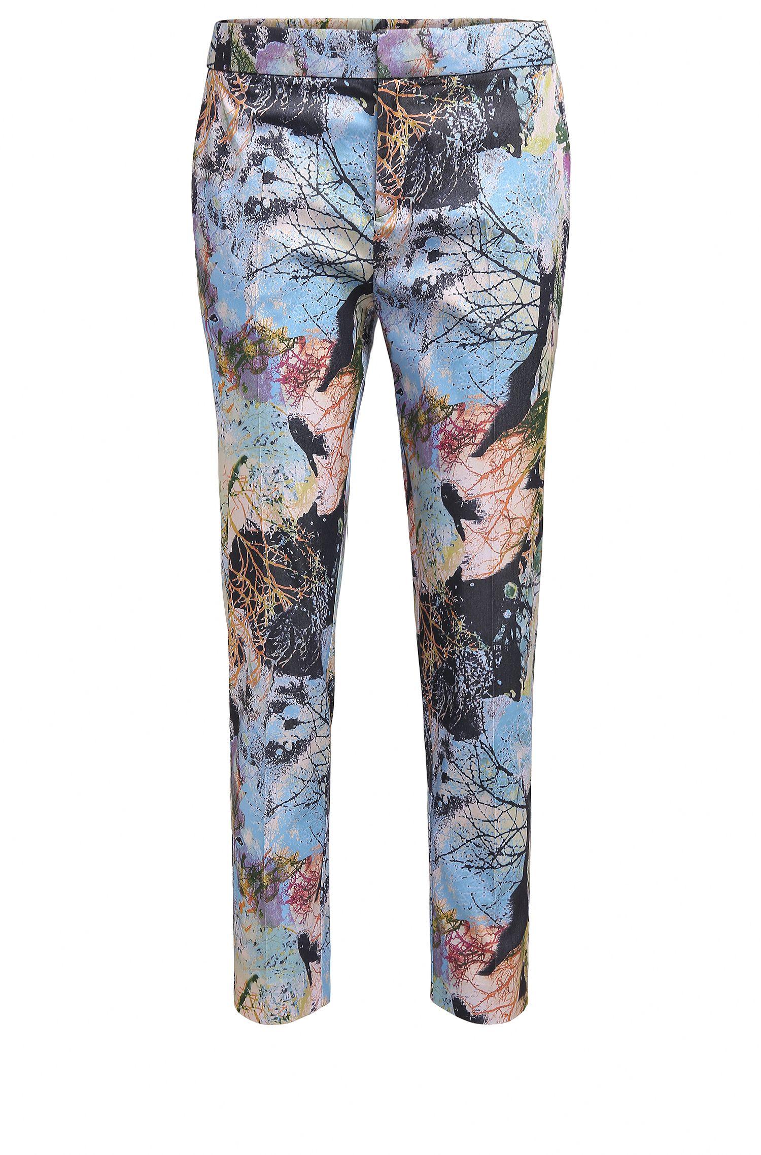 Pantalon Relaxed Fit à imprimé inspiré de la nature