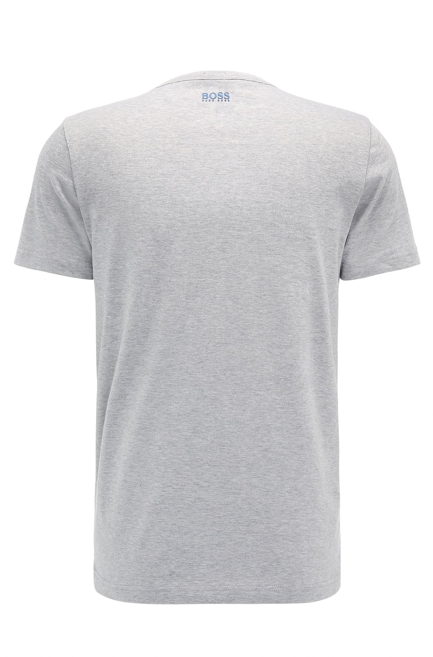 T-shirt Regular Fit en coton doux avec logo