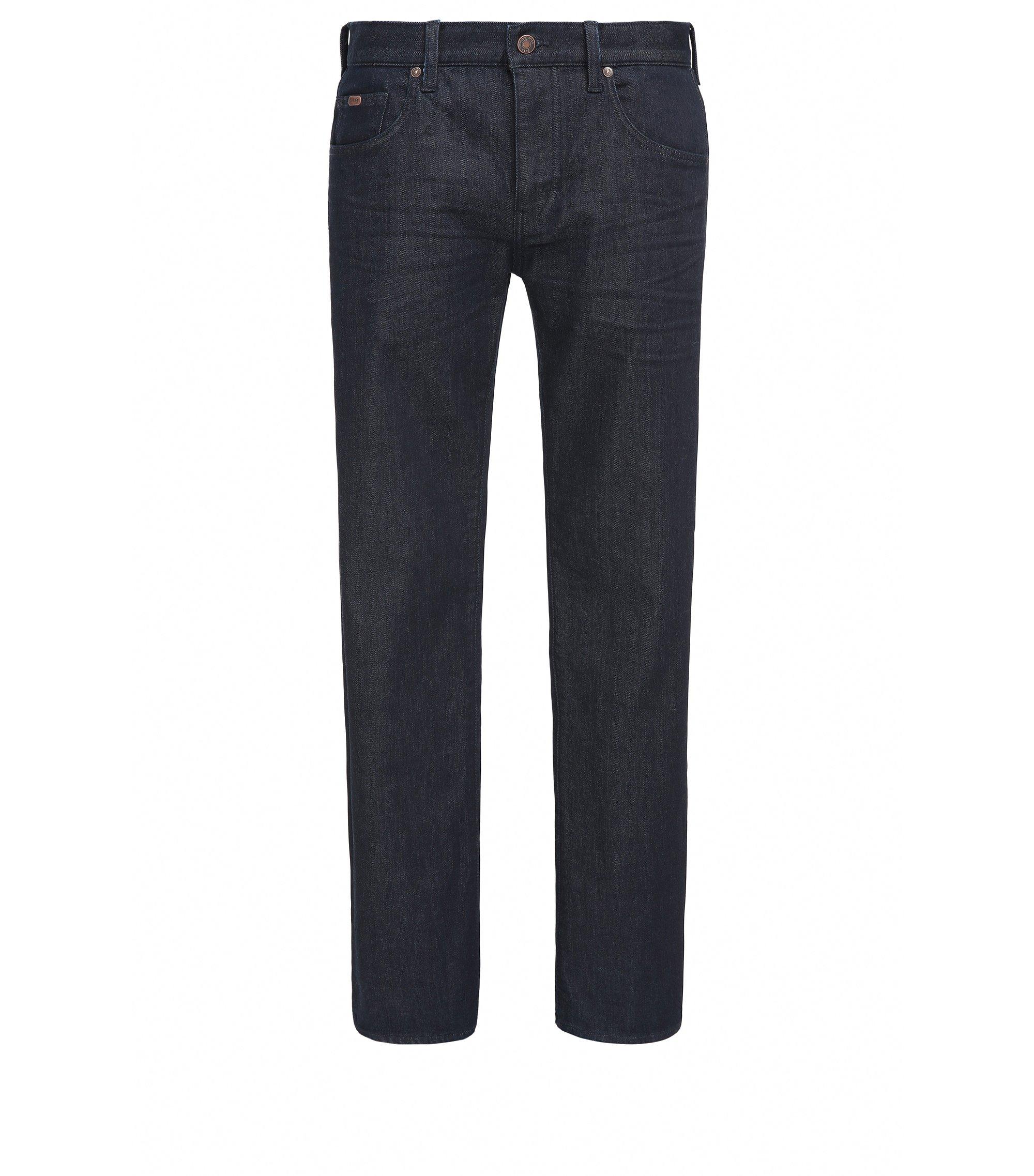 Relaxed-Fit Jeans aus komfortablem Stretch-Denim, Dunkelblau