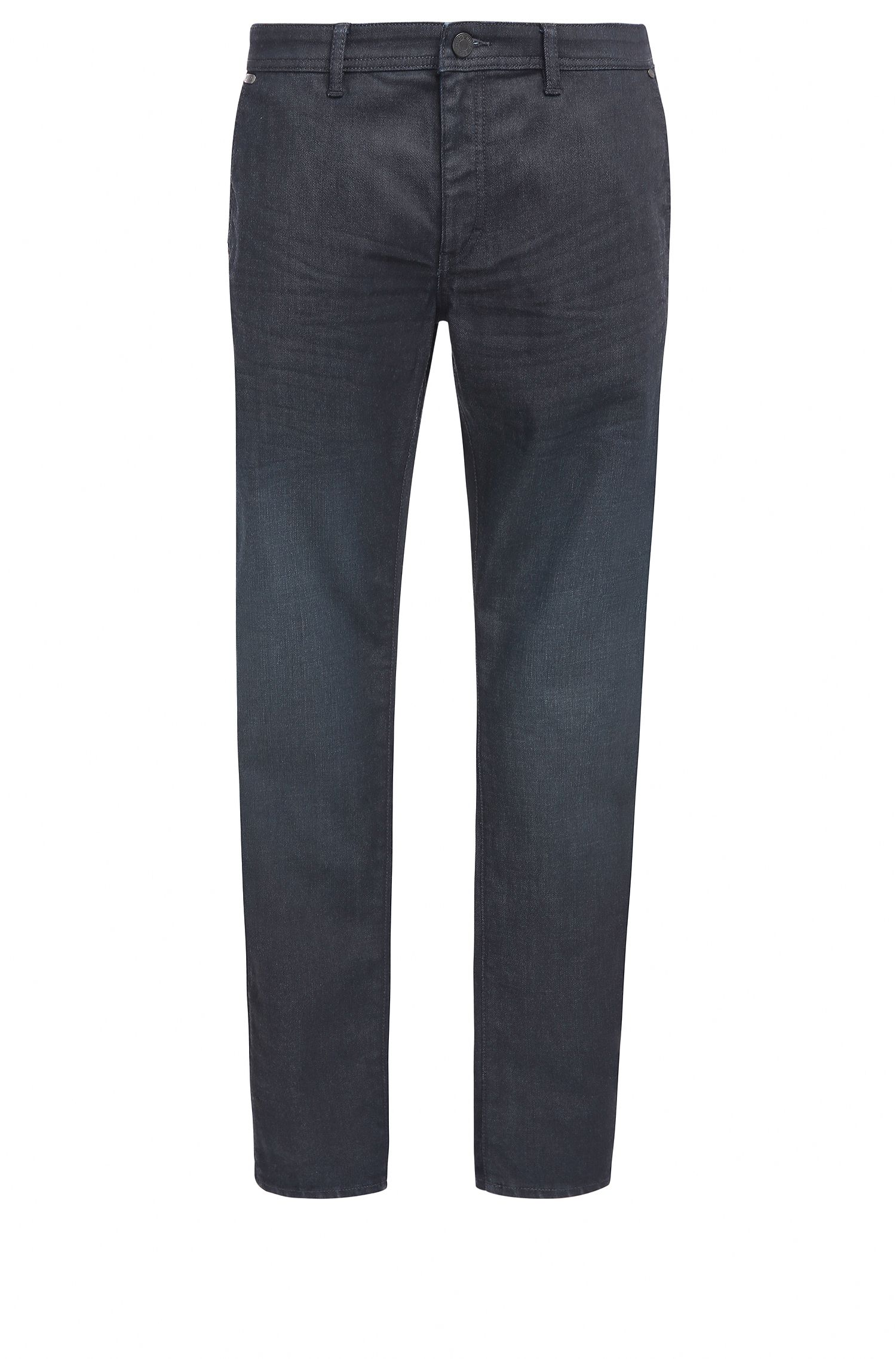 Tapered-fit jeans in comfort-stretch denim