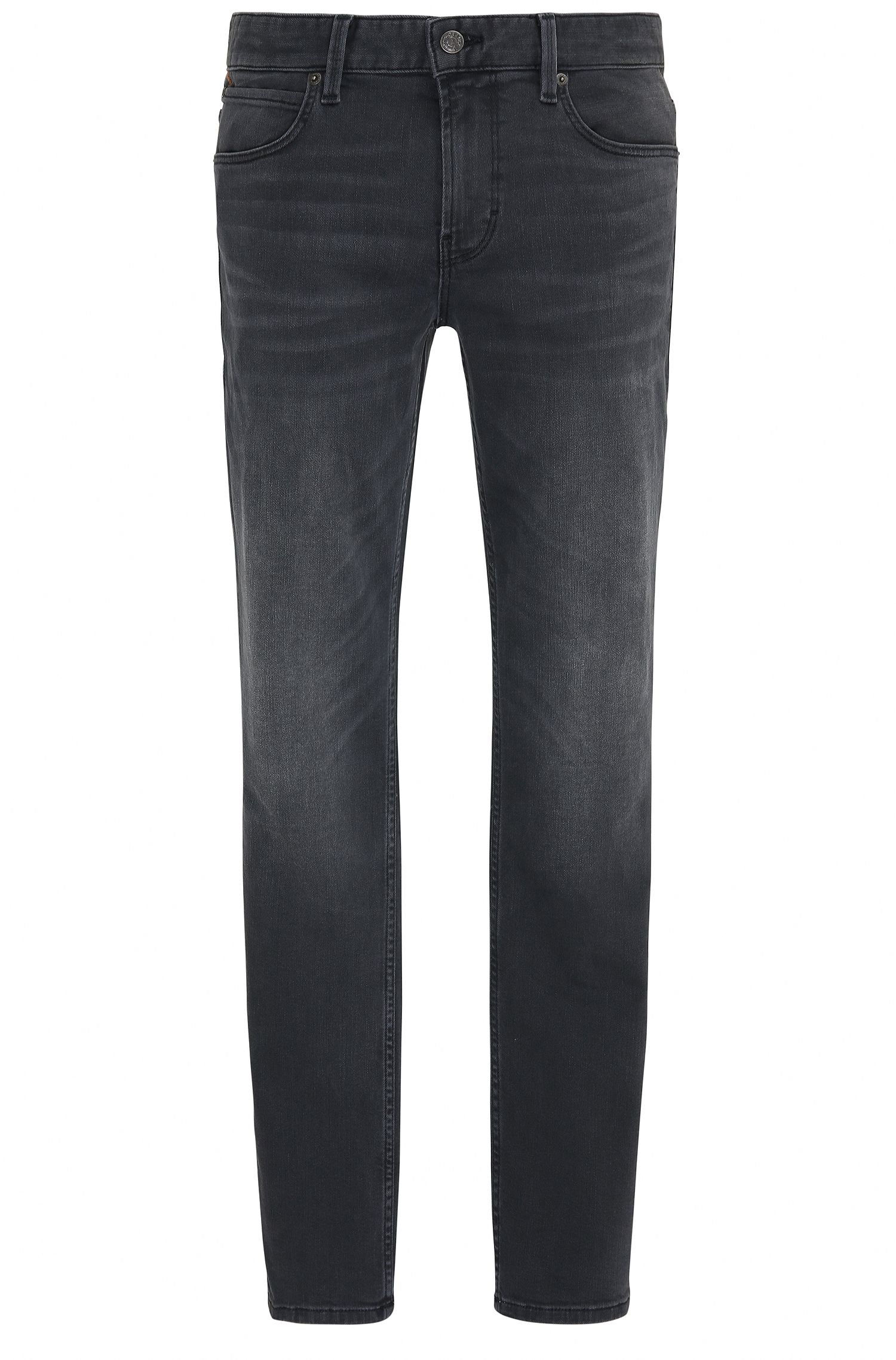 Jeans slim fit in denim super elasticizzato