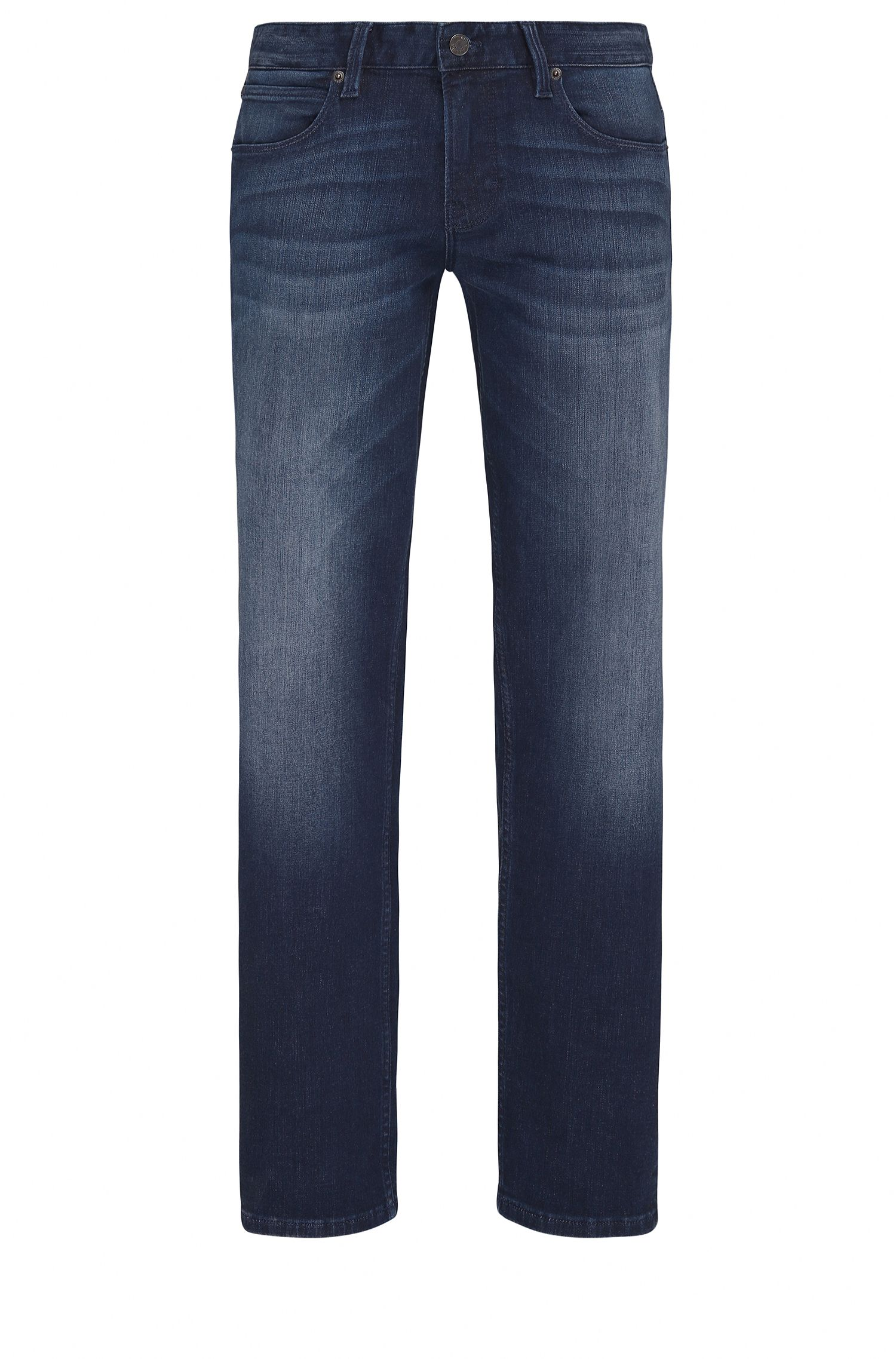 Slim-fit jeans in super-stretch denim