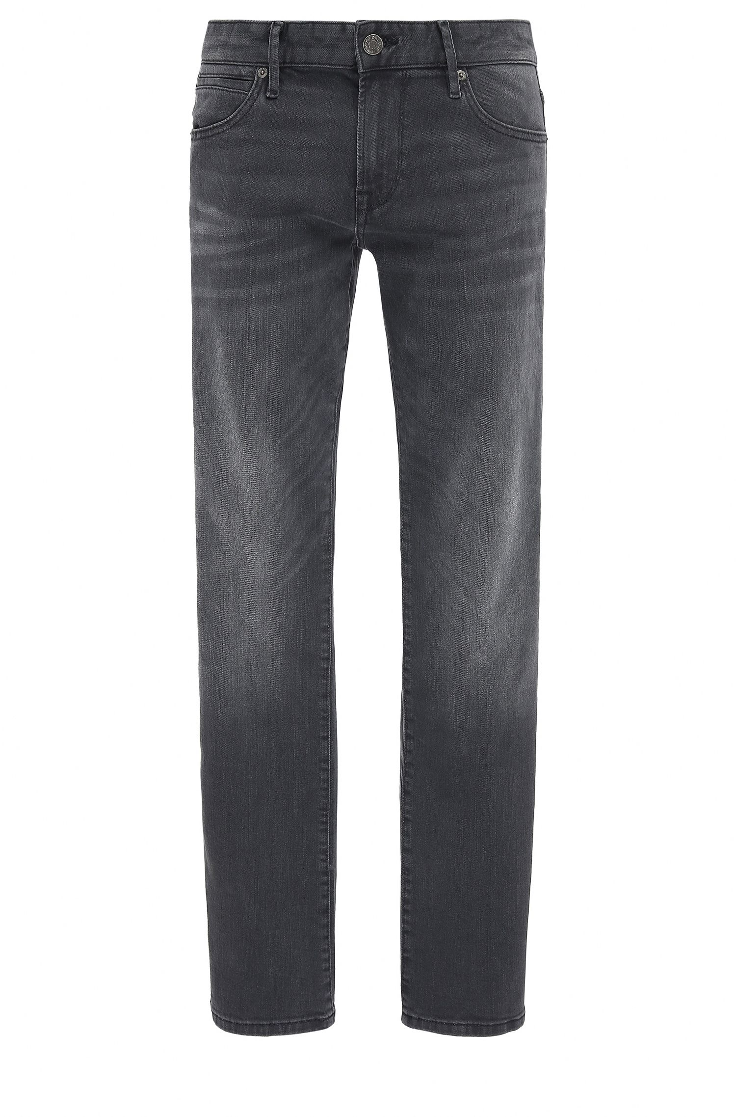 Regular-fit jeans in super-stretch denim
