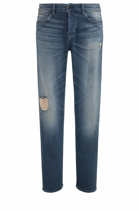Jeans Tapered Fit en coton stretch confortable185.00BOSS cQyTCzeBe