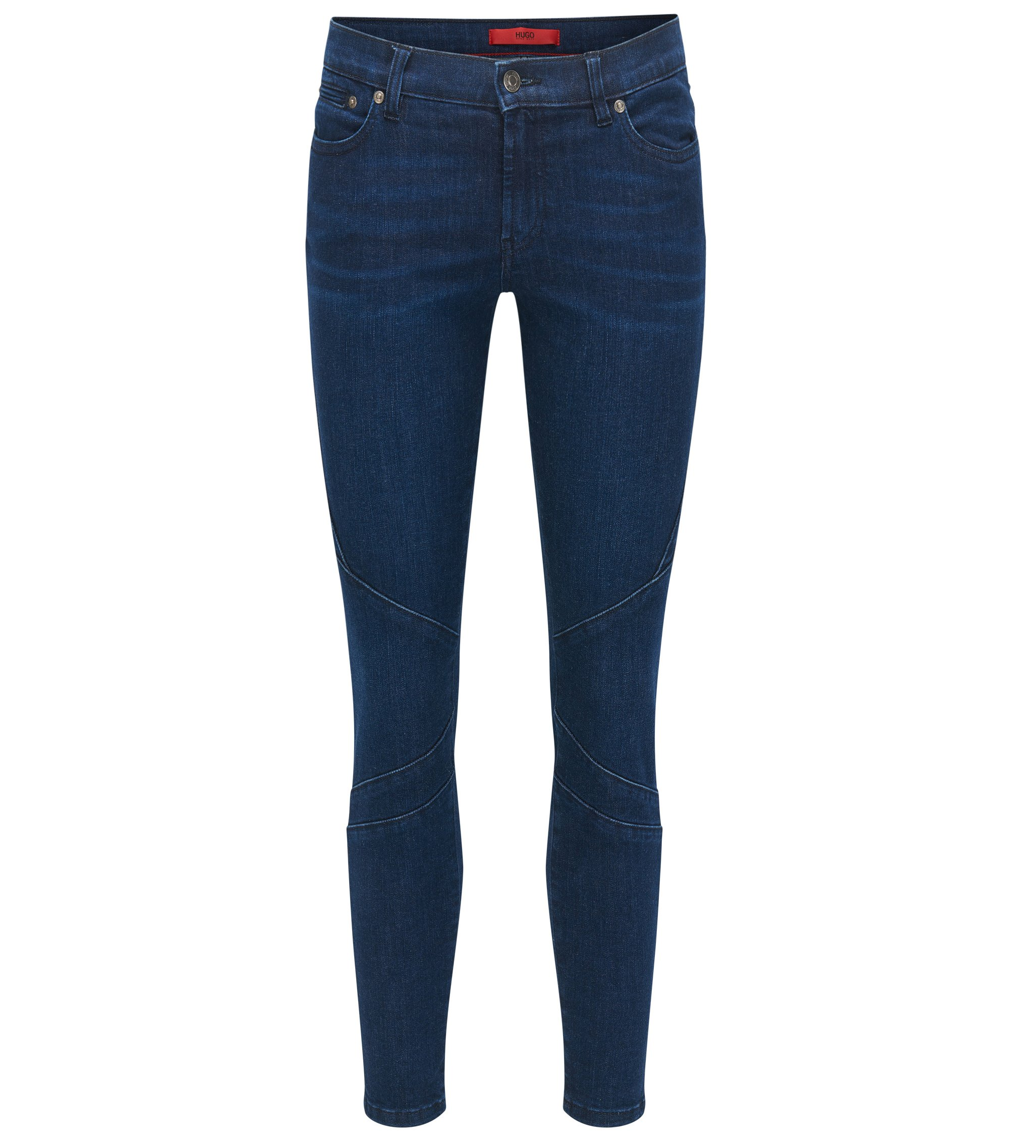 Jeans Skinny Fit en denim super stretch, Bleu