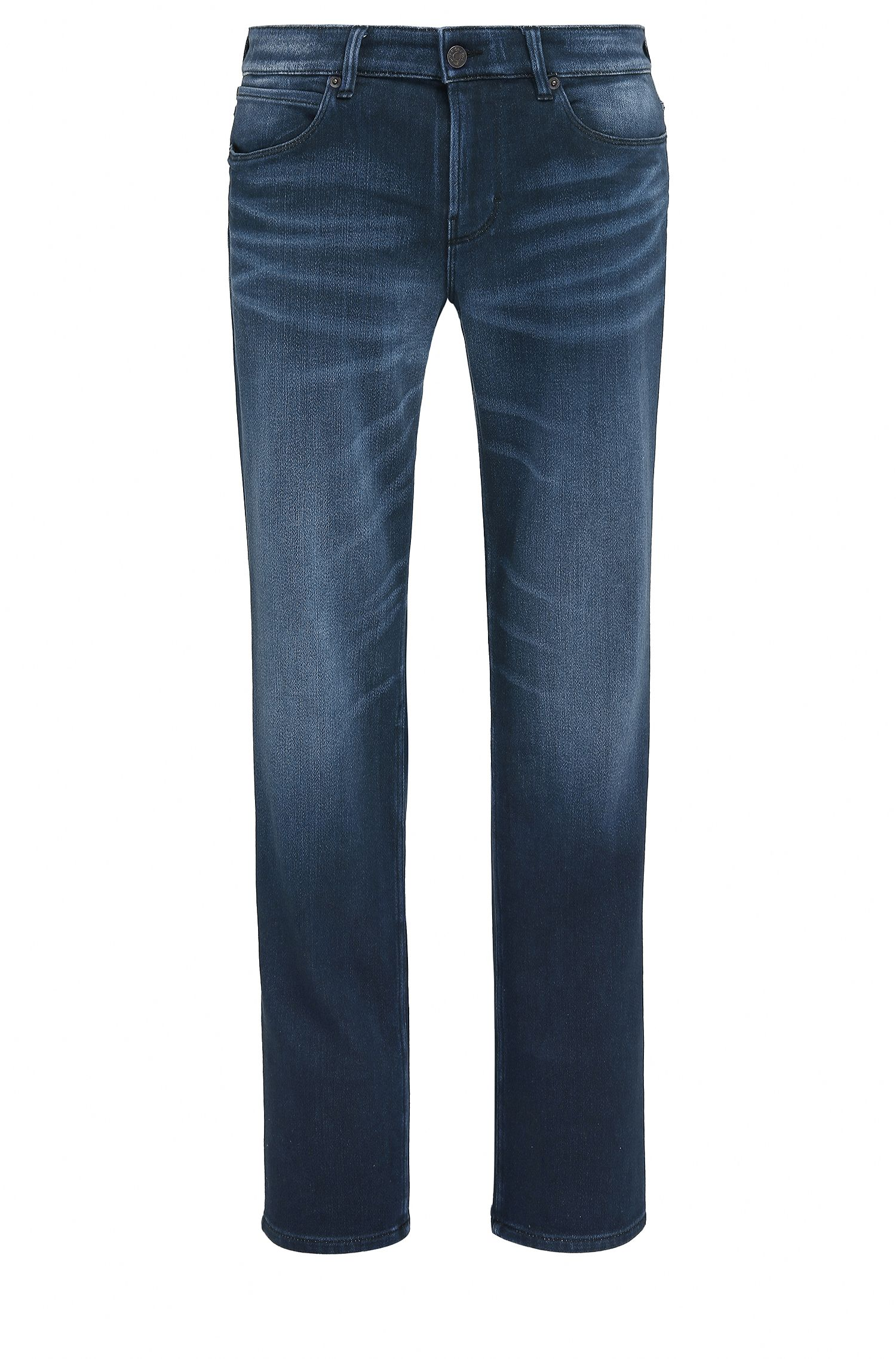 Slim-fit jeans van Italiaanse denim