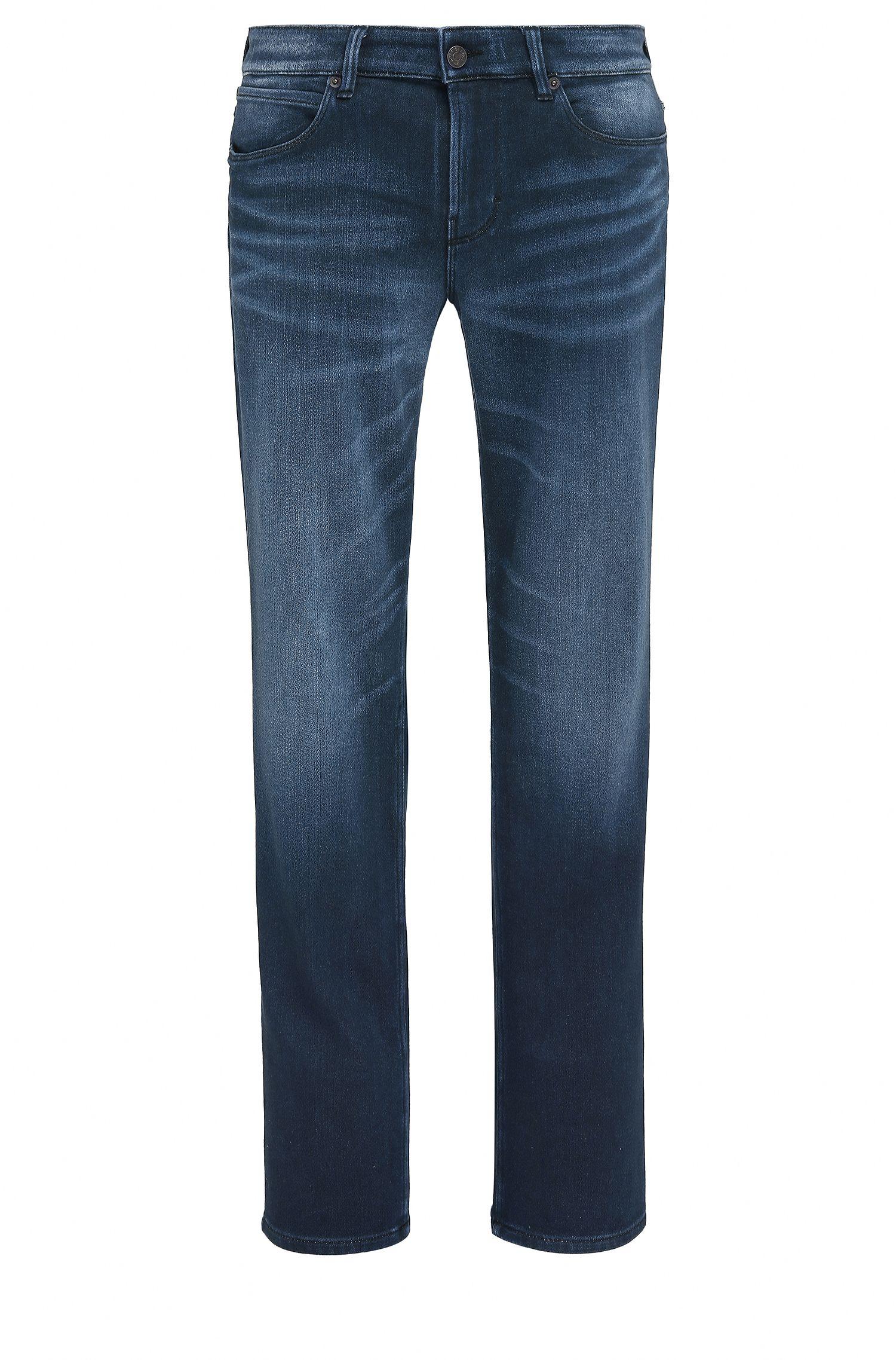 Slim-fit jeans van Italiaanse denim