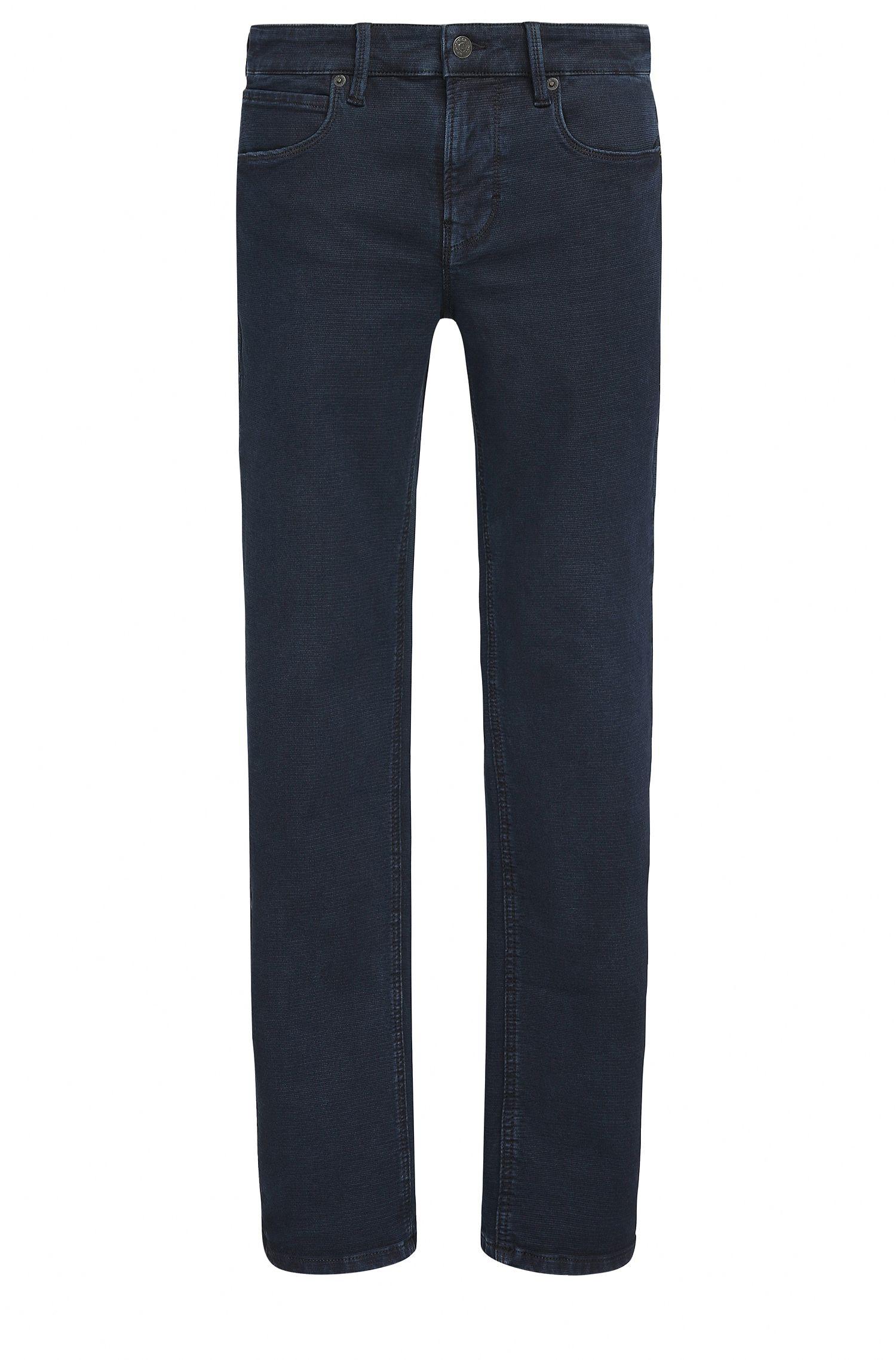 Slim-Fit Jeans aus Stretch-Denim mit zweifarbiger Webstruktur