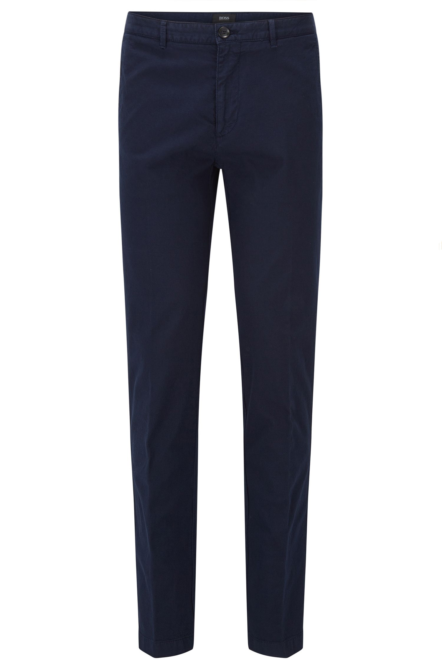 Chino Regular Fit en coton italien stretch