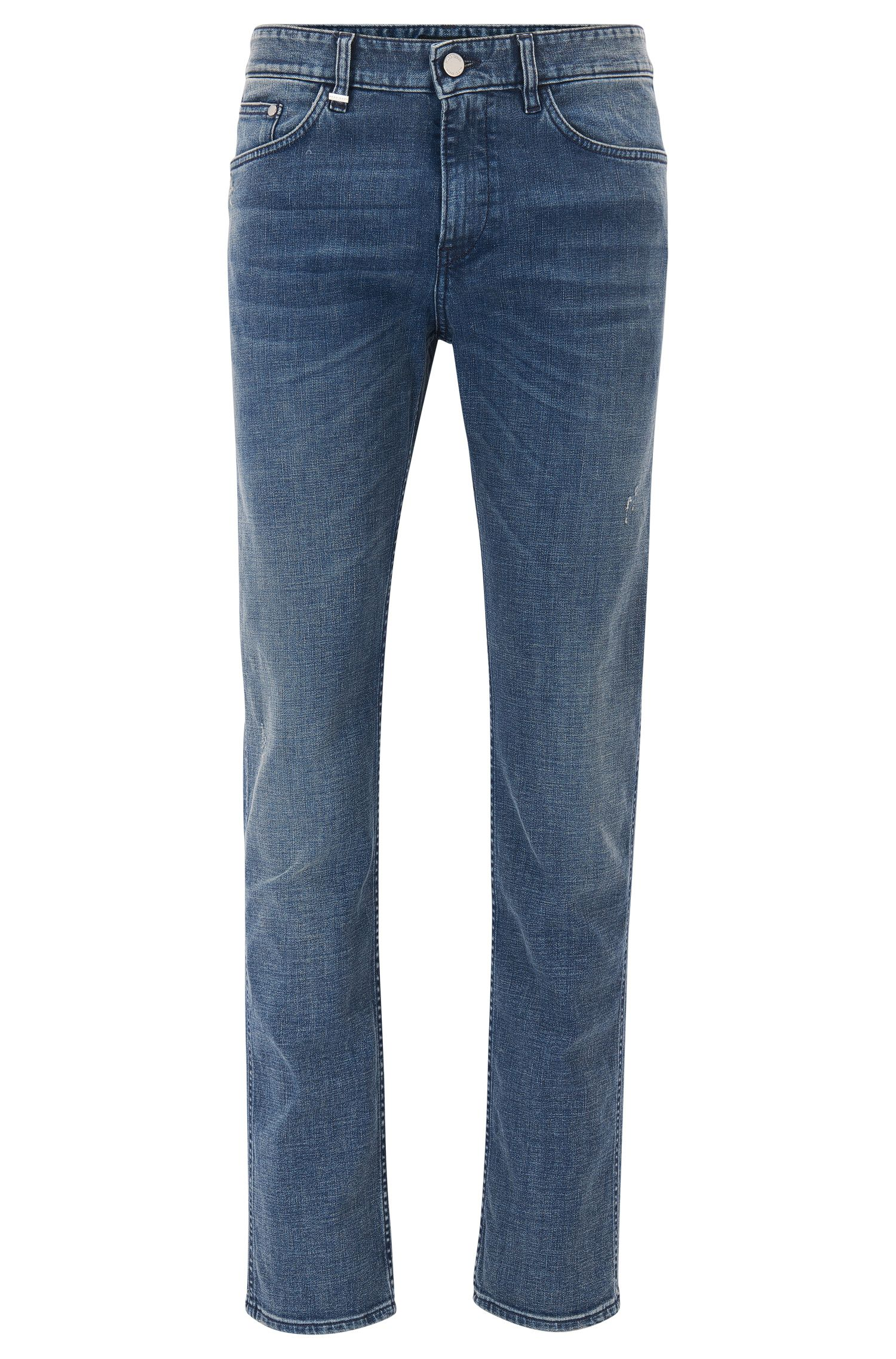 Jeans slim fit in denim elasticizzato