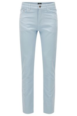 Jeans Regular Fit en tissu Oxford italien, Bleu vif