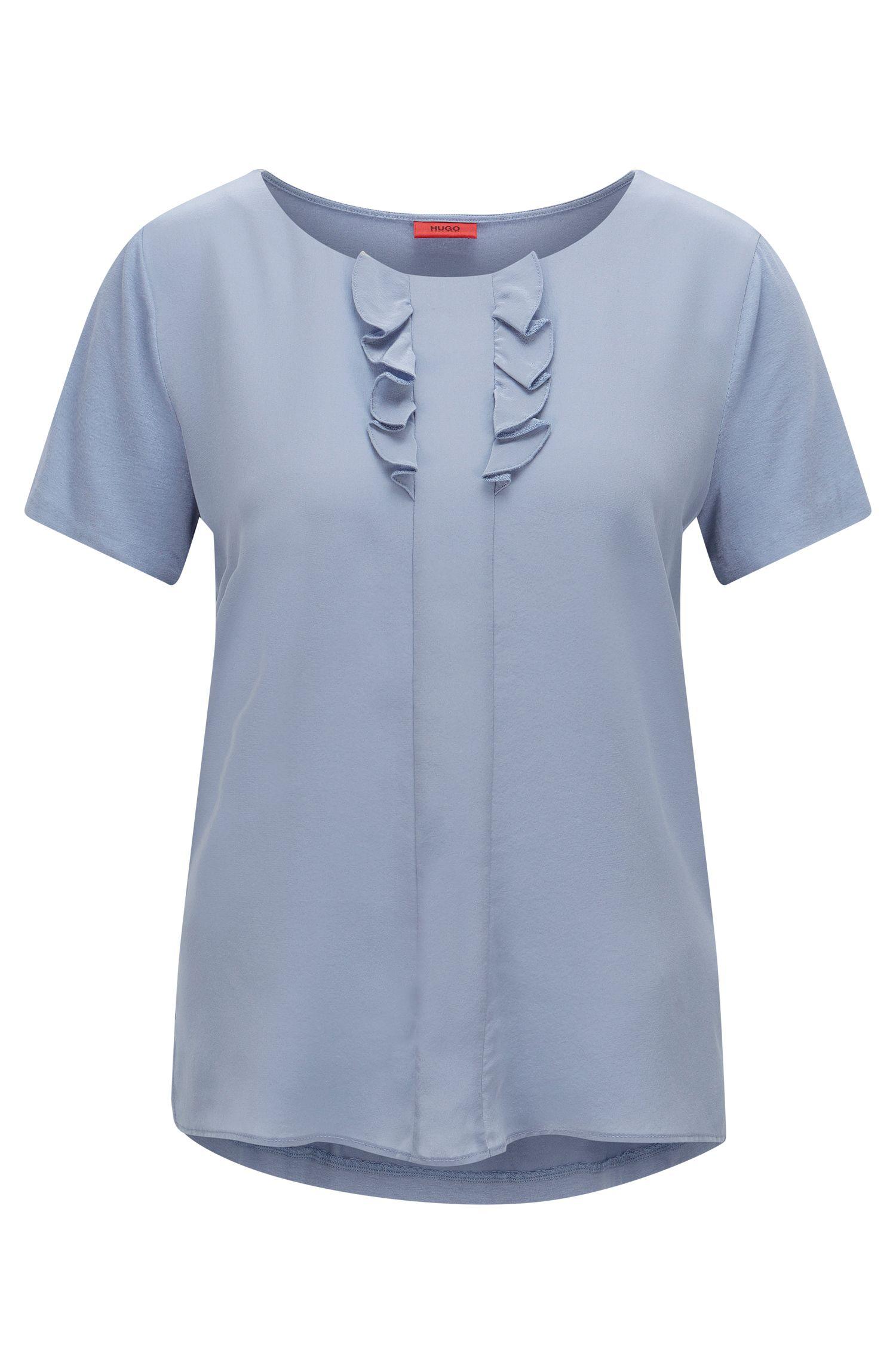 T-shirt Relaxed Fit avec détail en soie