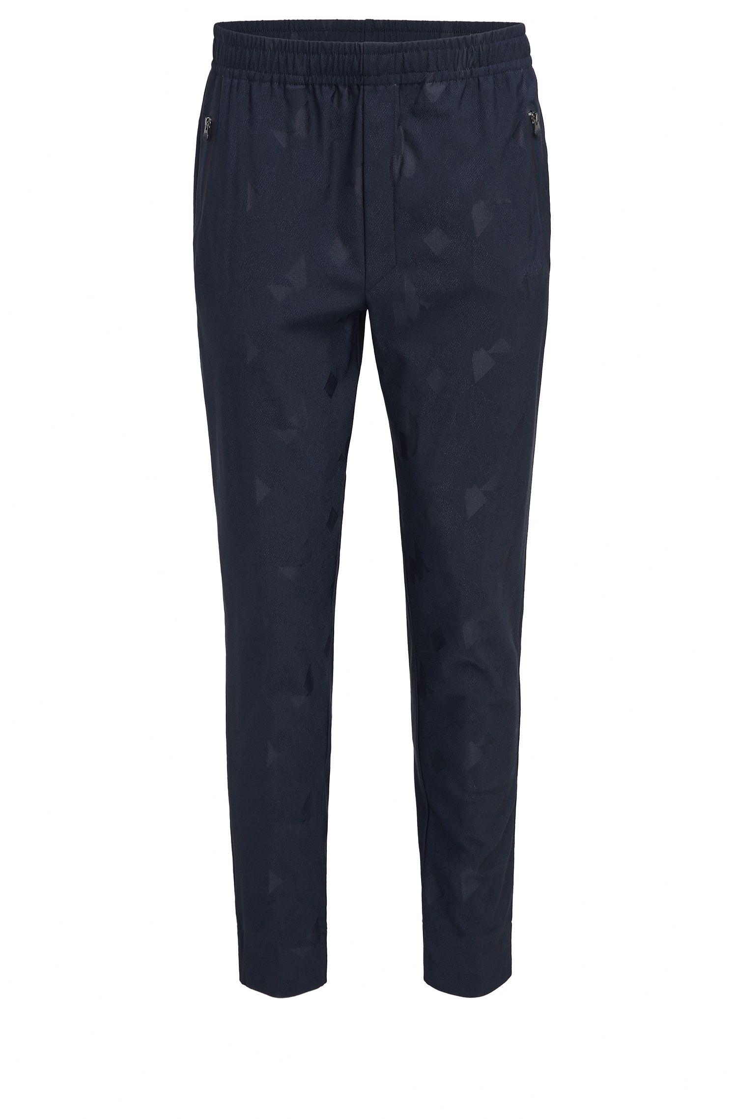 Pantalon Slim Fit en jacquard technique