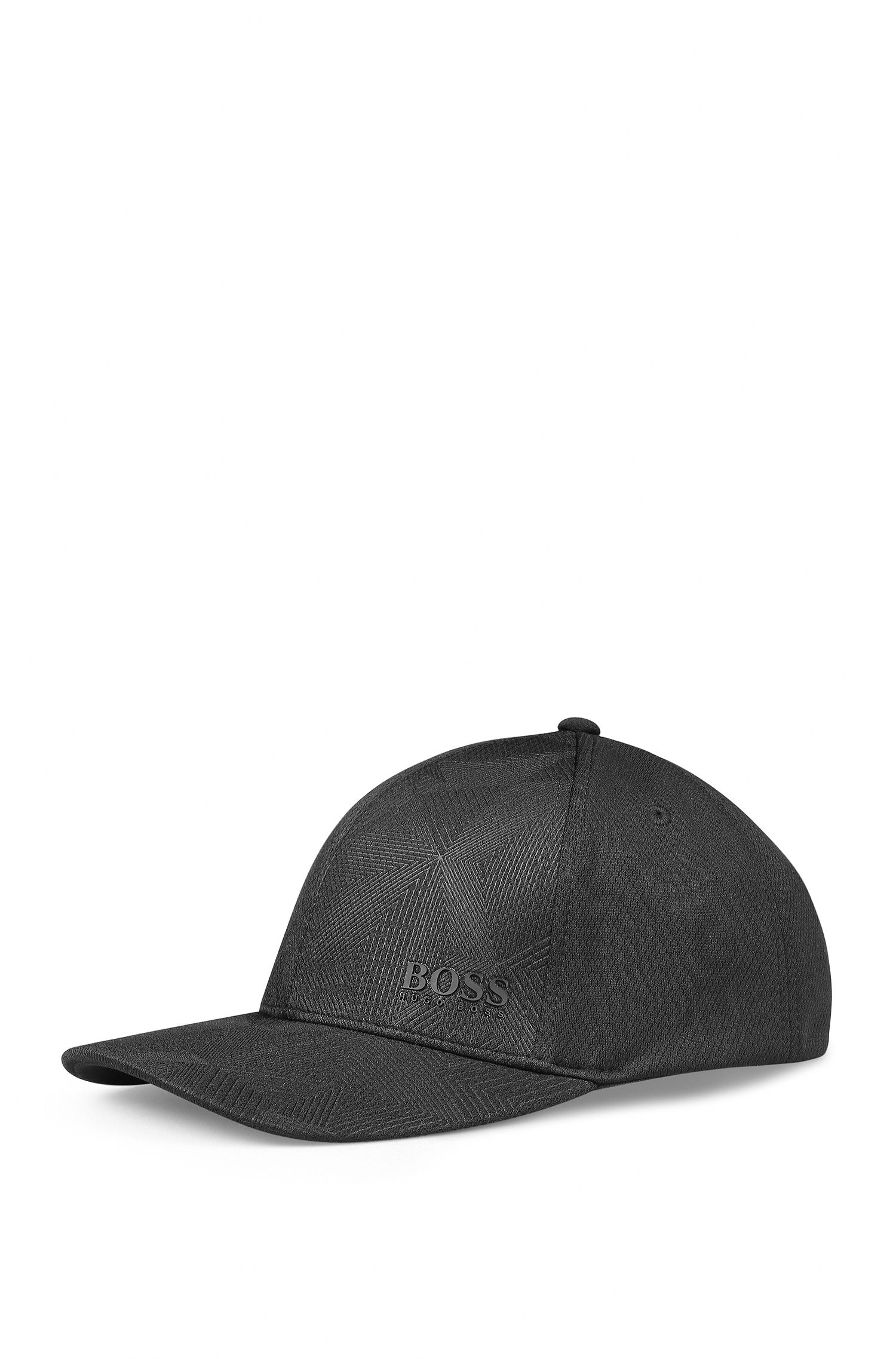 Baseball cap in honeycomb technical fabric