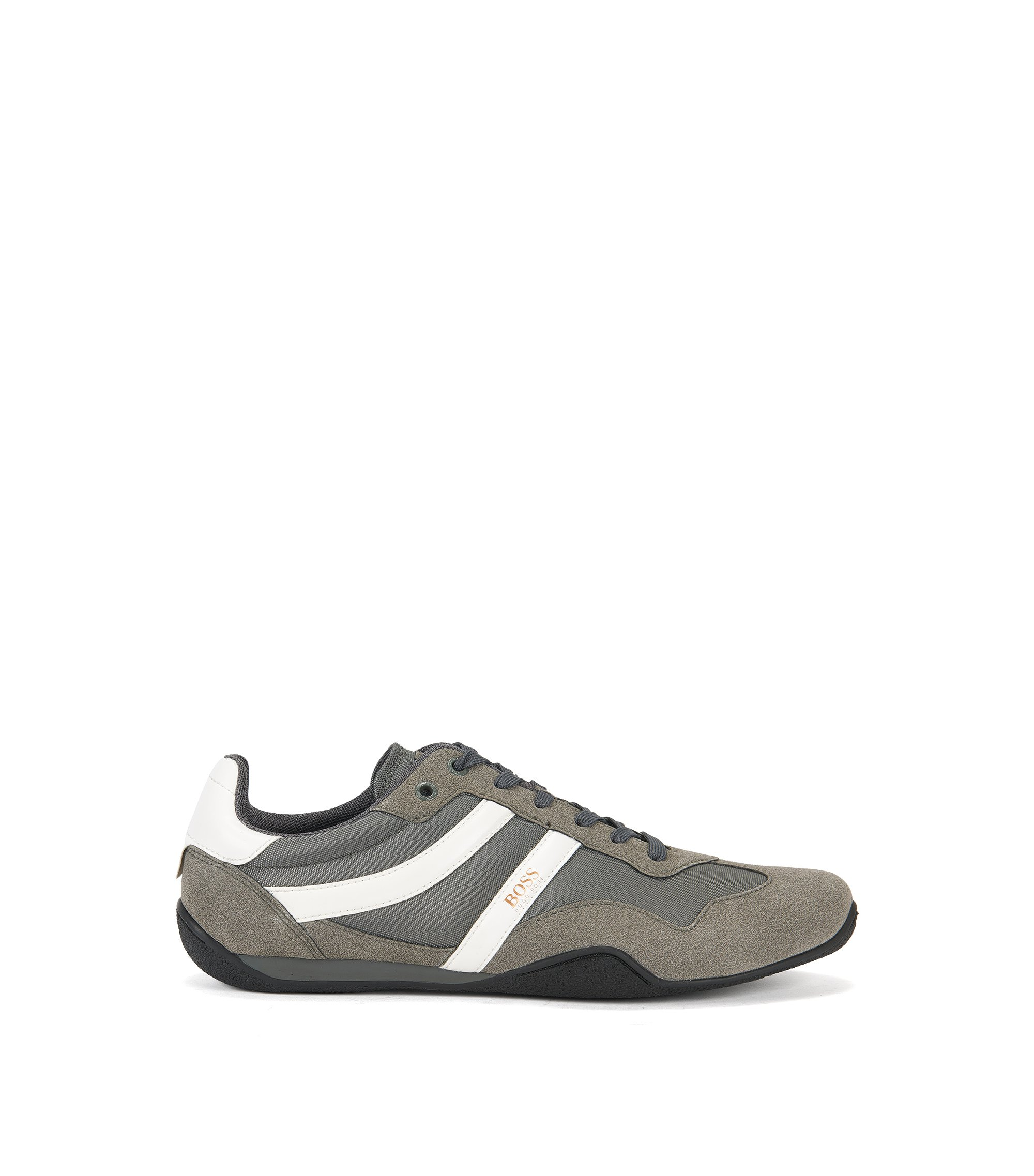 Low-top trainers with lightweight EVA midsole, Dark Grey