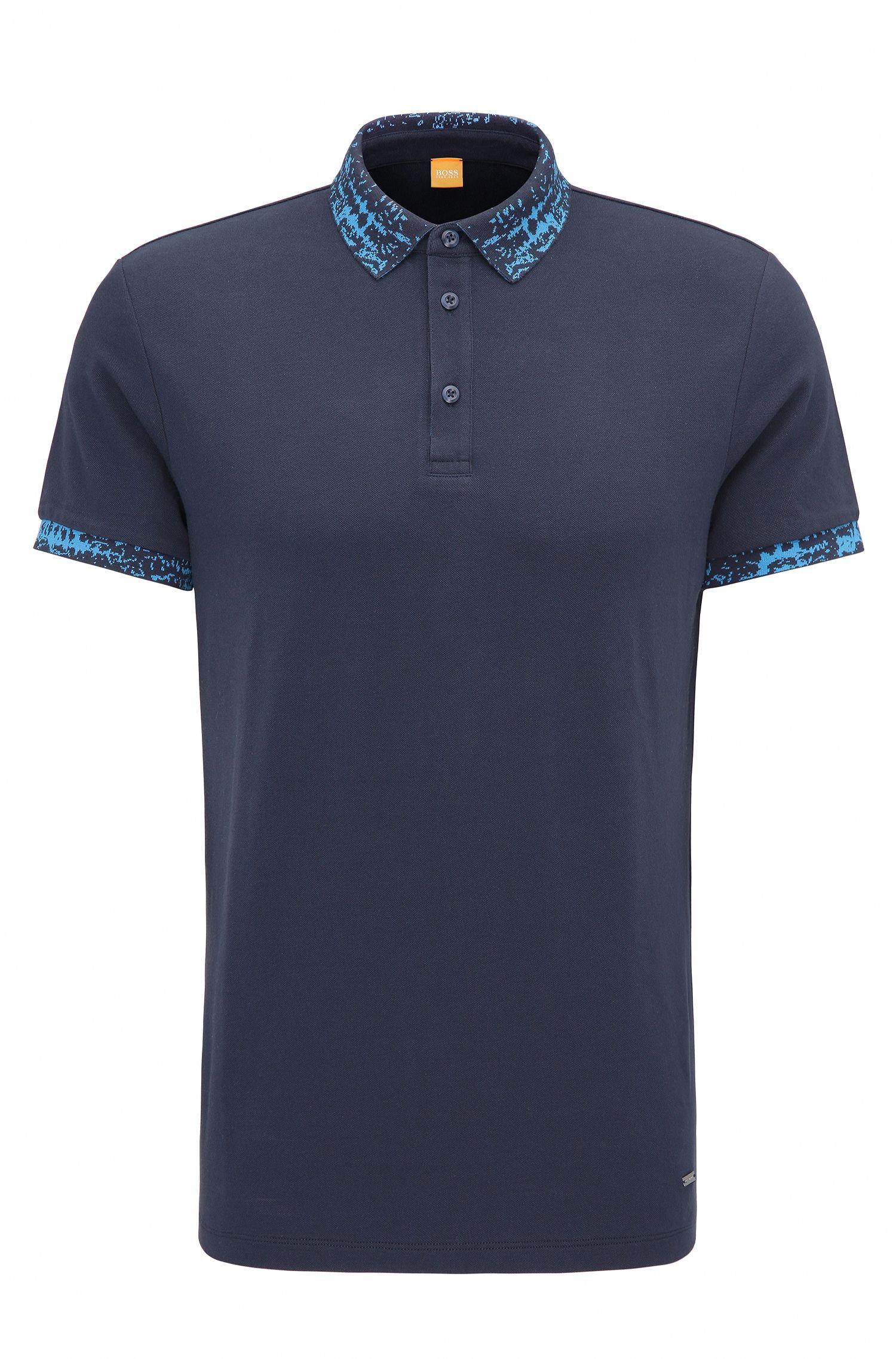 Regular-Fit Poloshirt aus Stretch-Baumwolle