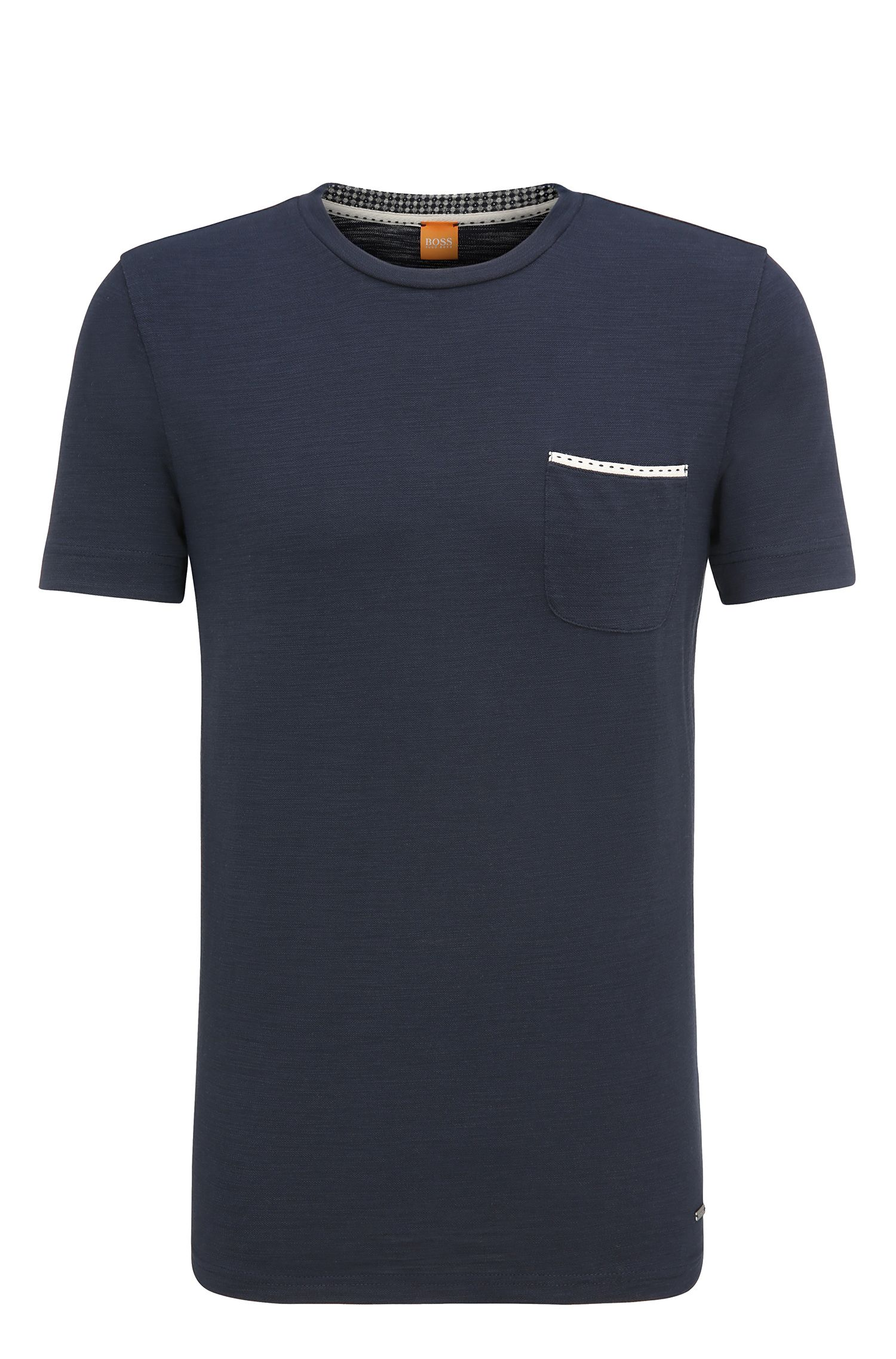 Relaxed-fit T-shirt van single jersey