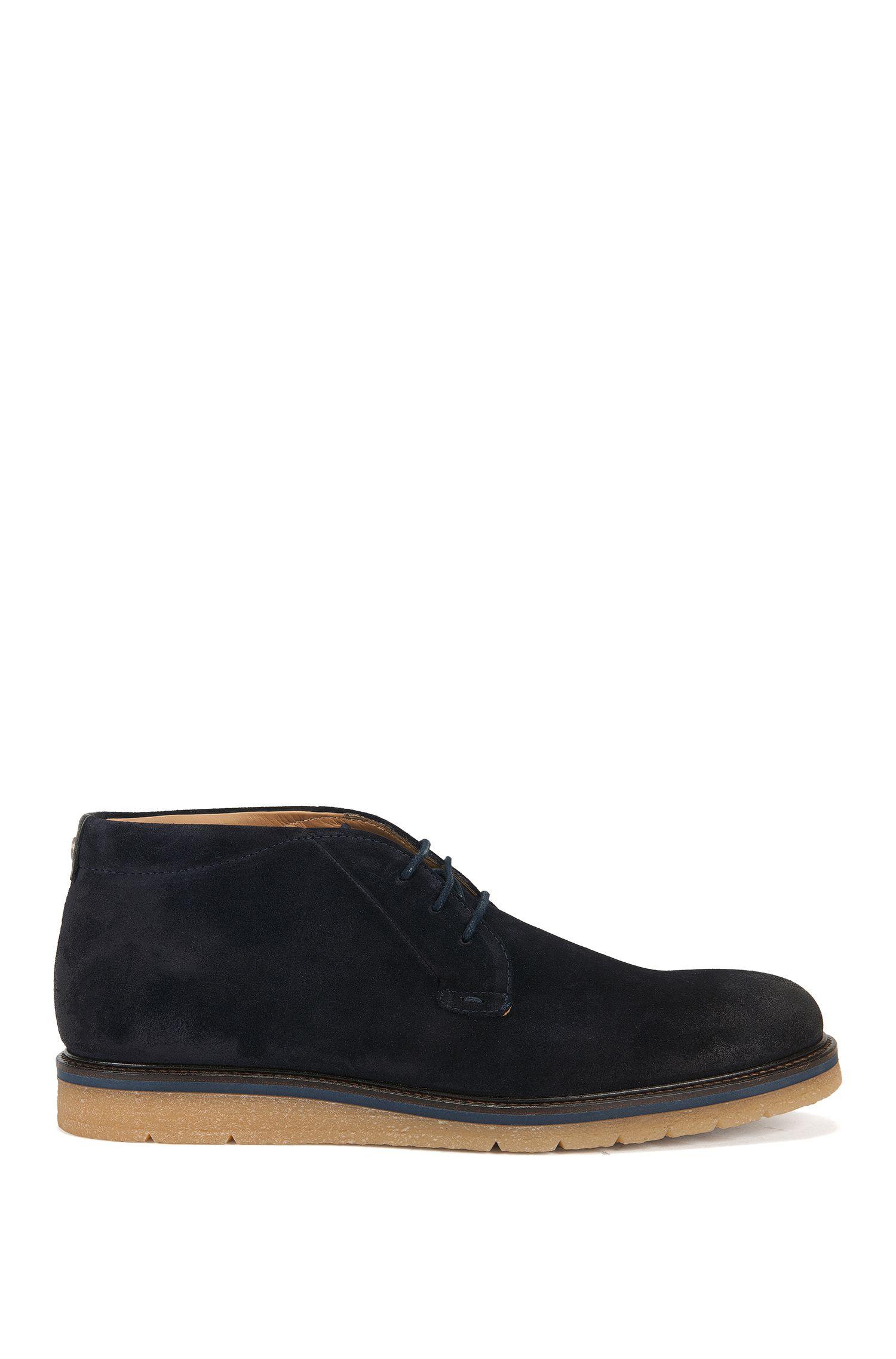 Desert boot in pelle scamosciata lavata