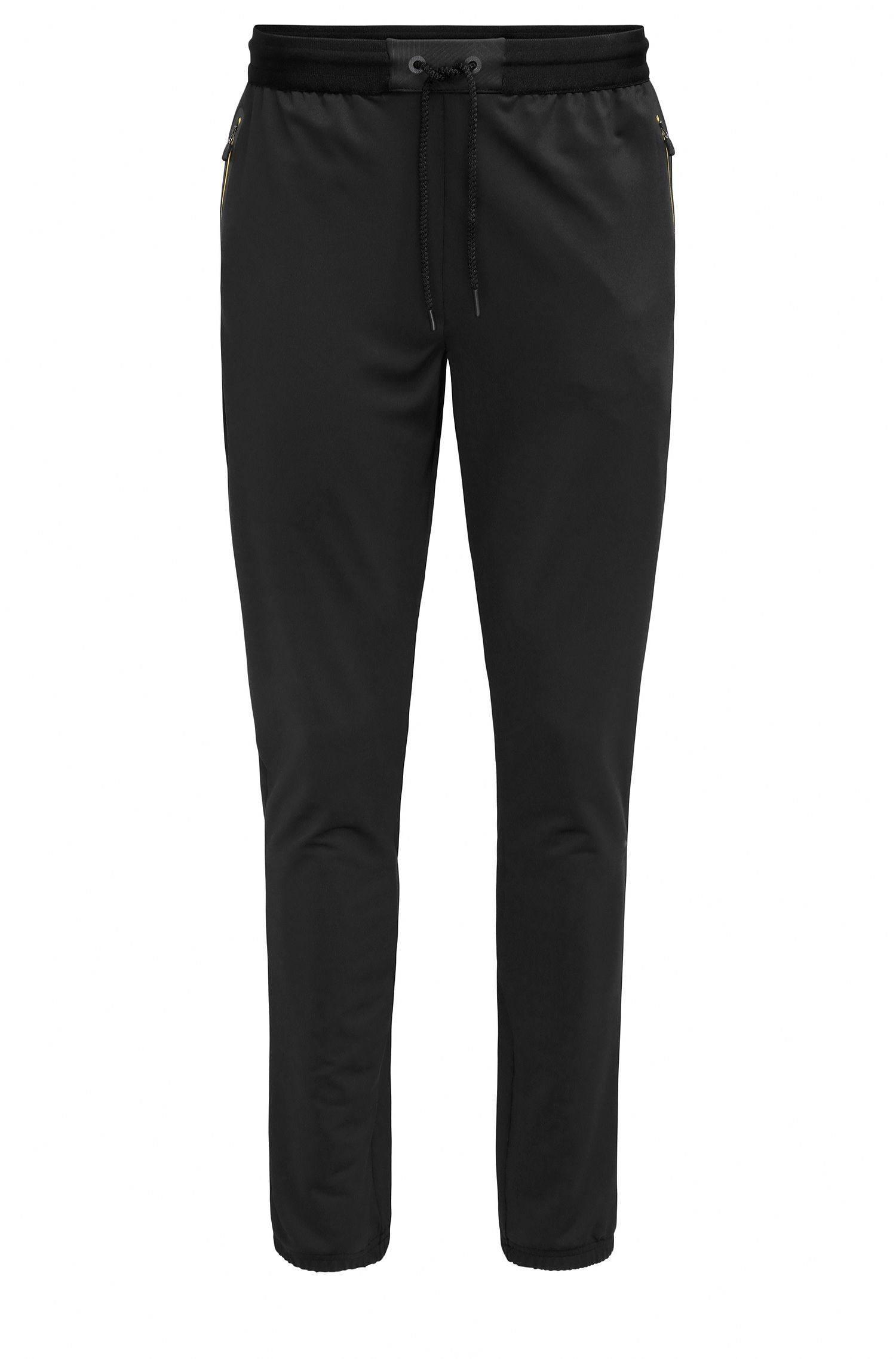 Pantalon Slim Fit en jersey de tissu technique