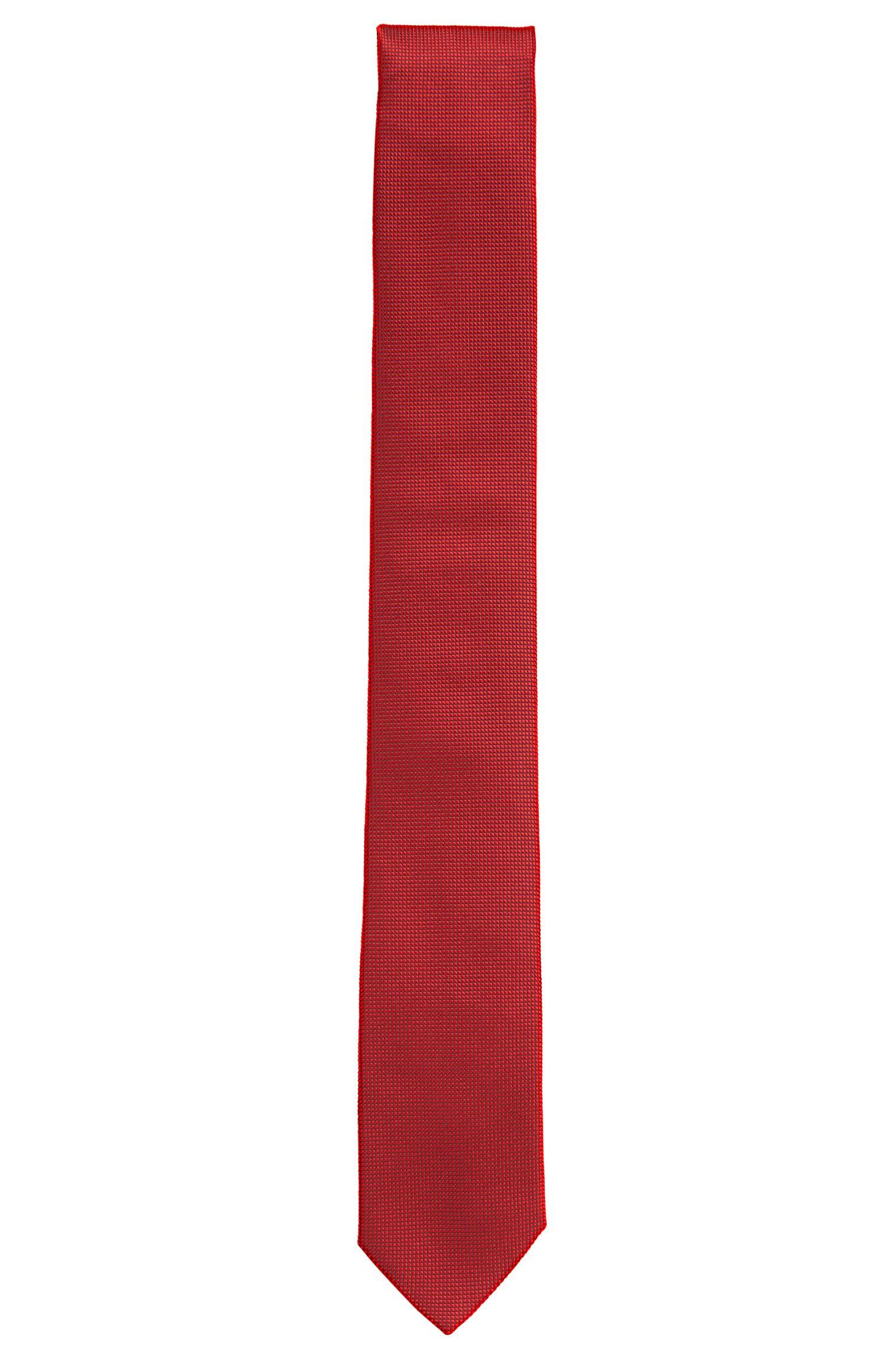 Corbata de seda con textura: 'Tie 6cm'