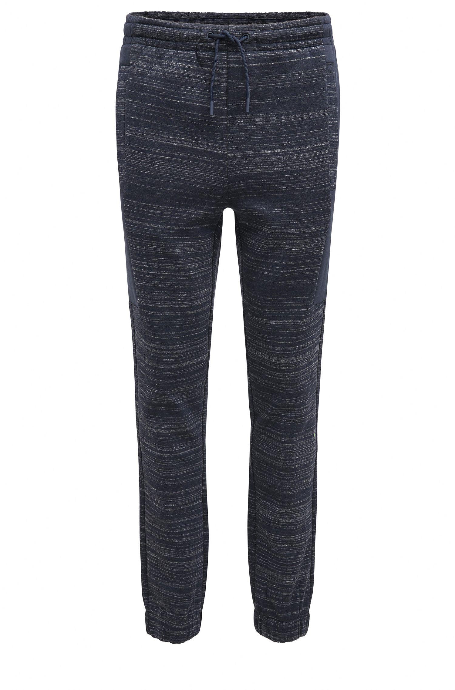 Slim-Fit Hose aus Baumwoll-Mix mit Logo