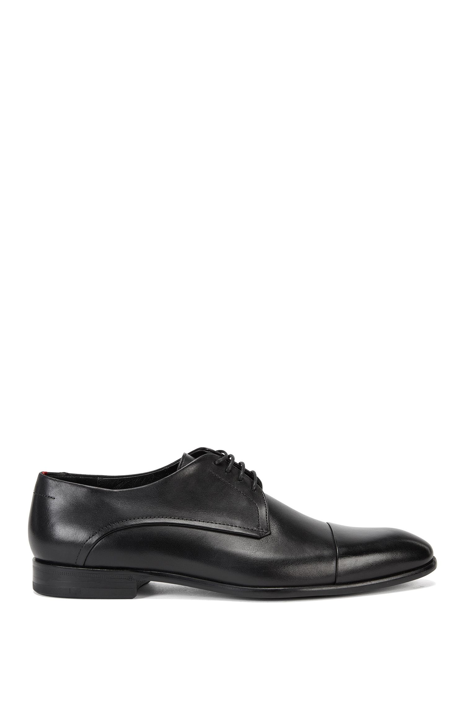 Derby shoes in rich burnished leather