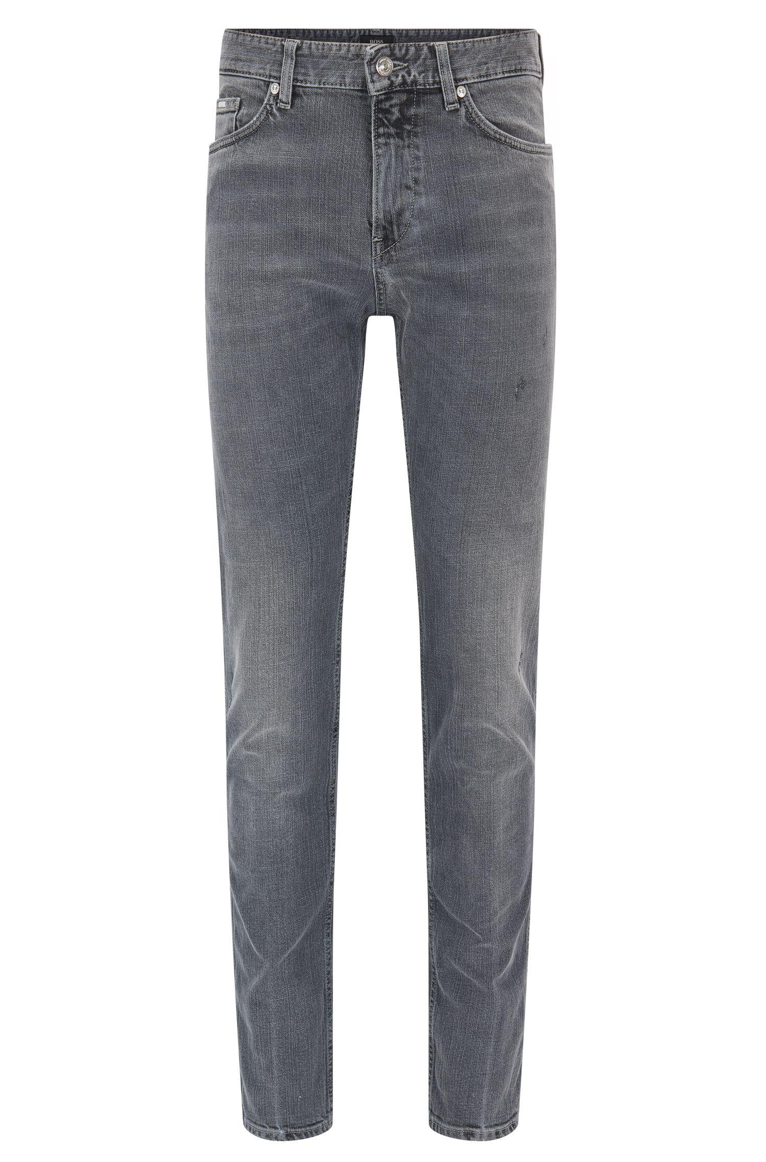 Slim-Fit Jeans aus Stretch-Denim mit Vintage-Effekt