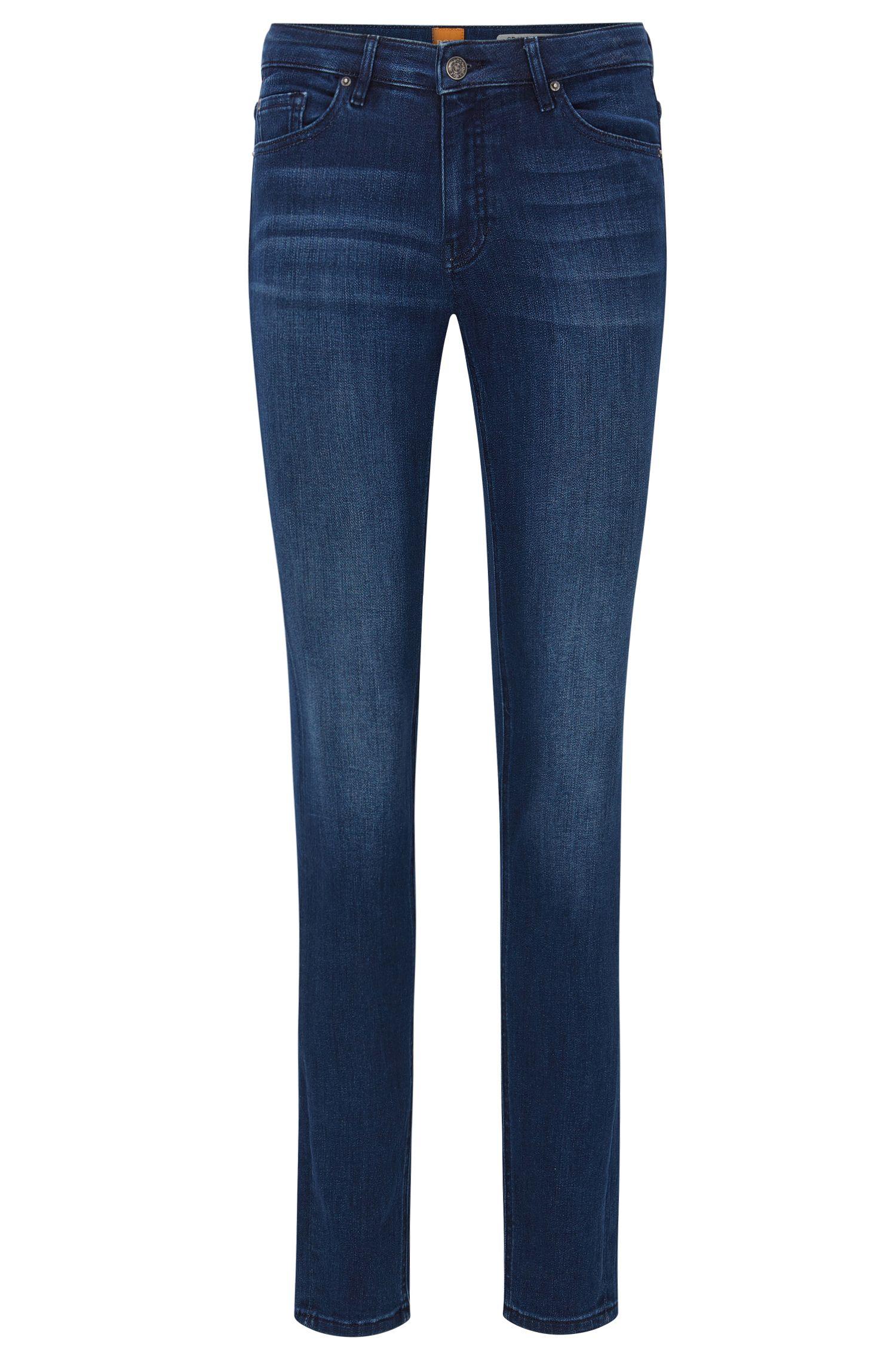 Jeans slim fit in comodo denim elasticizzato