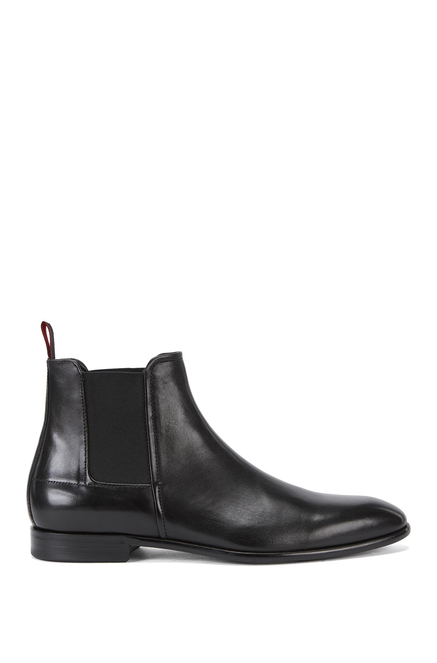 Formal Chelsea boots in rich leather