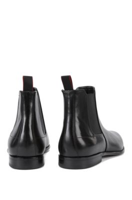 8eb70b1c HUGO - Elegantes botines de estilo Chelsea en lujosa piel