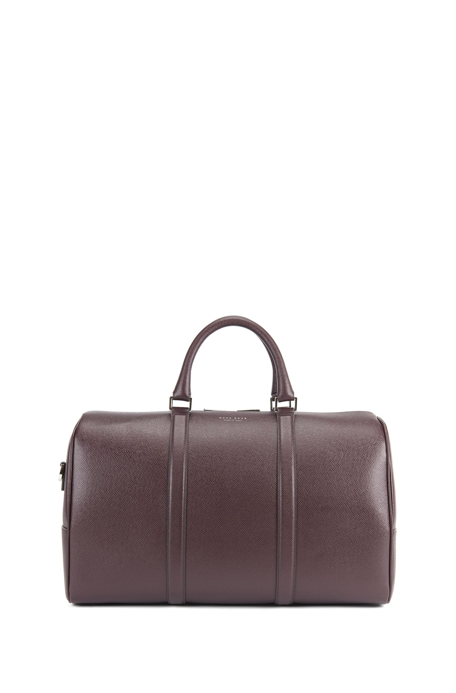 Signature Collection holdall in palmellato leather