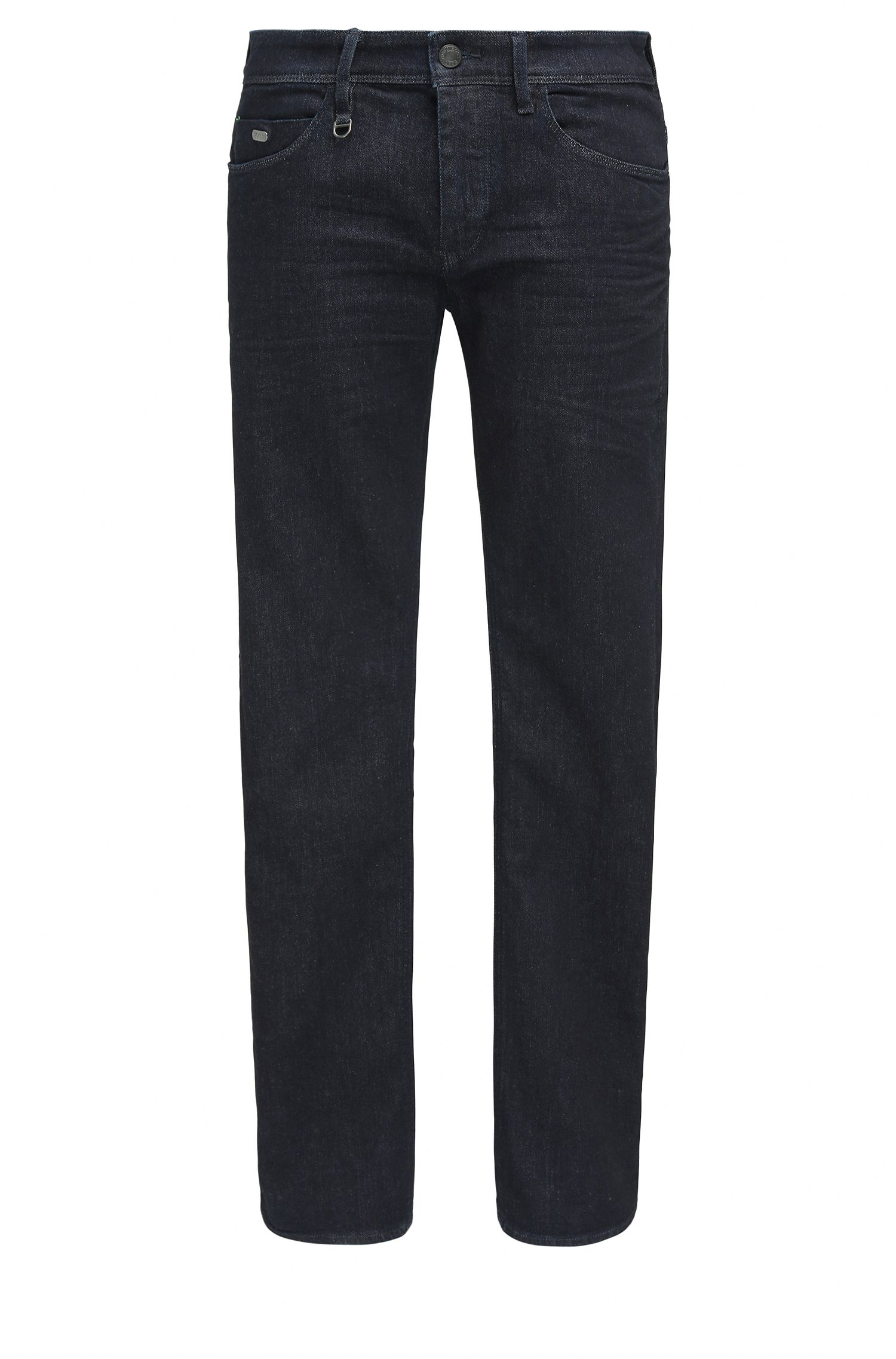 Slim-fit jeans van denim met extra stretch