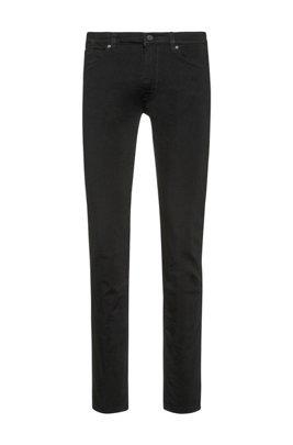Jeans Skinny Fit en denim stretch coldblack®, Noir