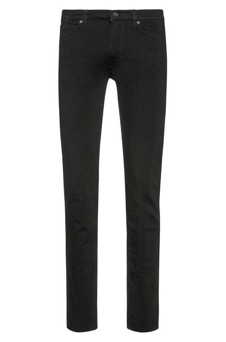 Skinny-fit jeans in coldblack® stretch denim, Black