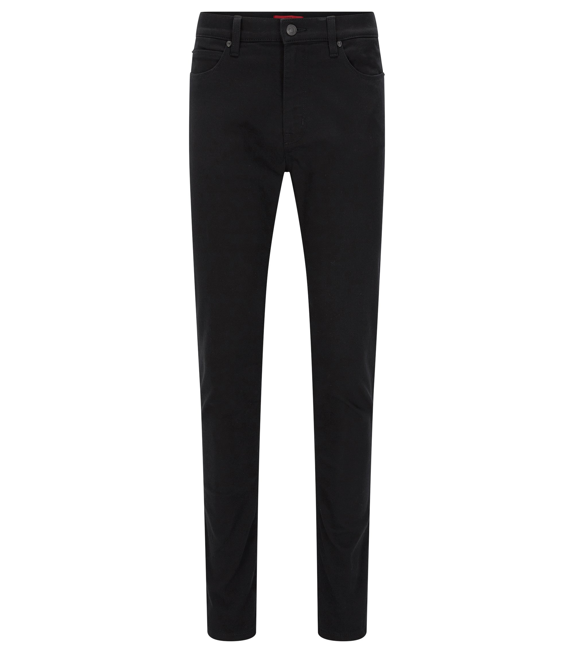 Jeans Skinny Fit en denim stretch coldblack®, Noir