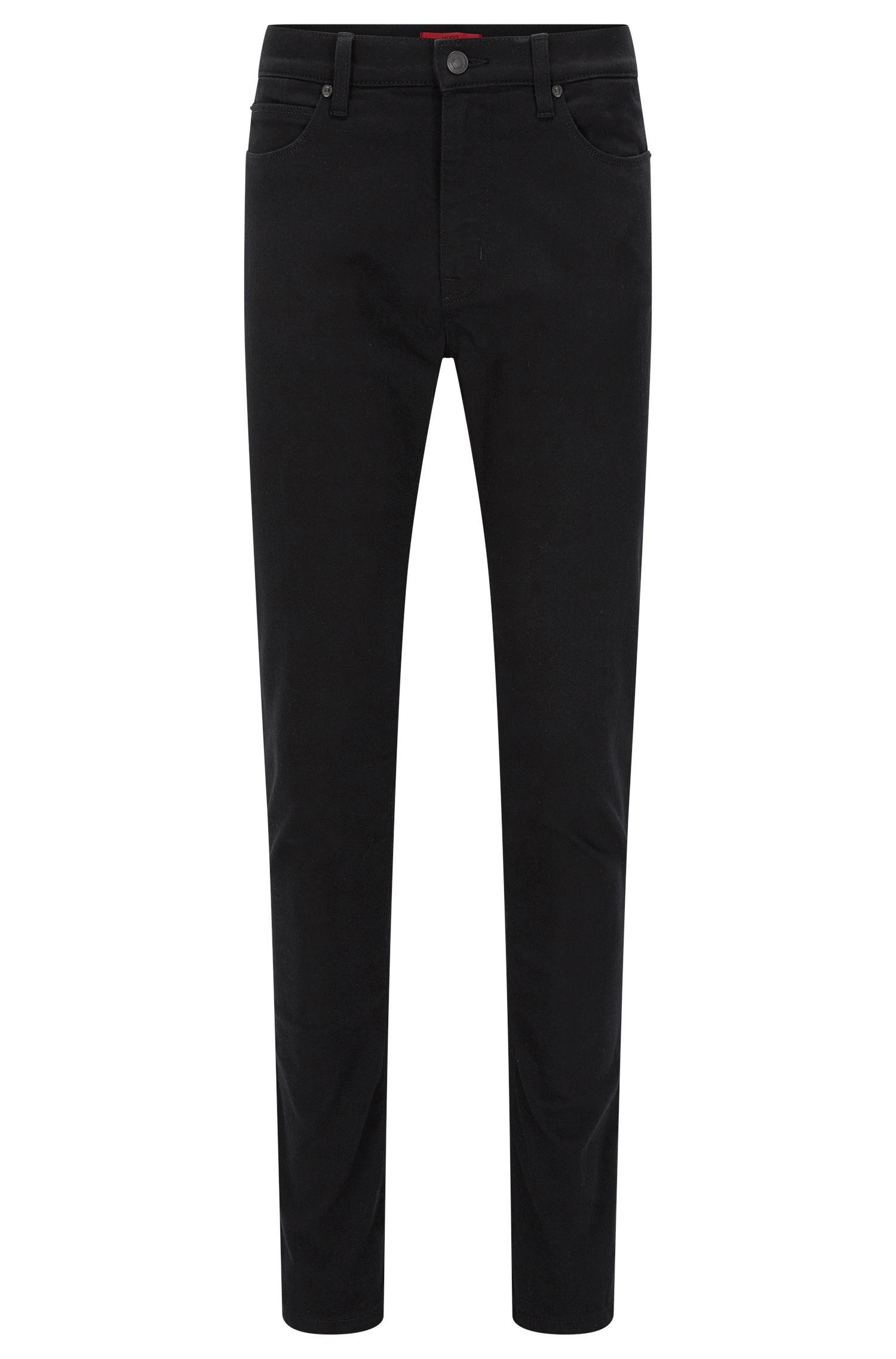 Skinny-fit jeans in coldblack® stretch denim
