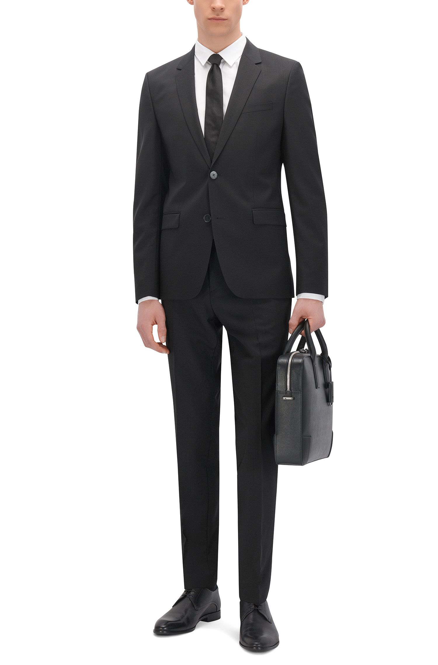 Pantalon HUGO Homme Extra Slim Fit en laine vierge