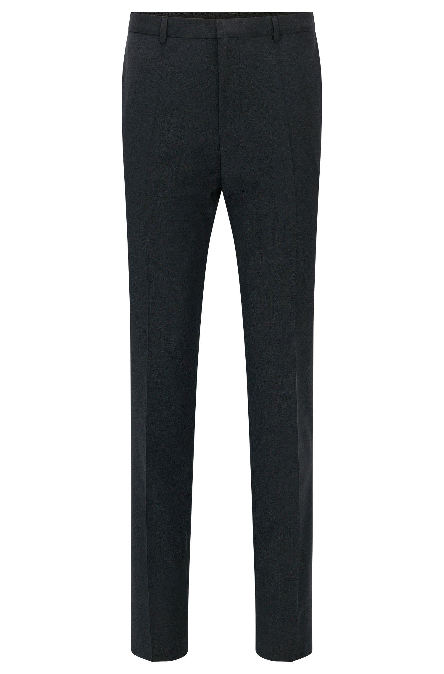 Extra slim-fit broek van scheerwol van HUGO Man