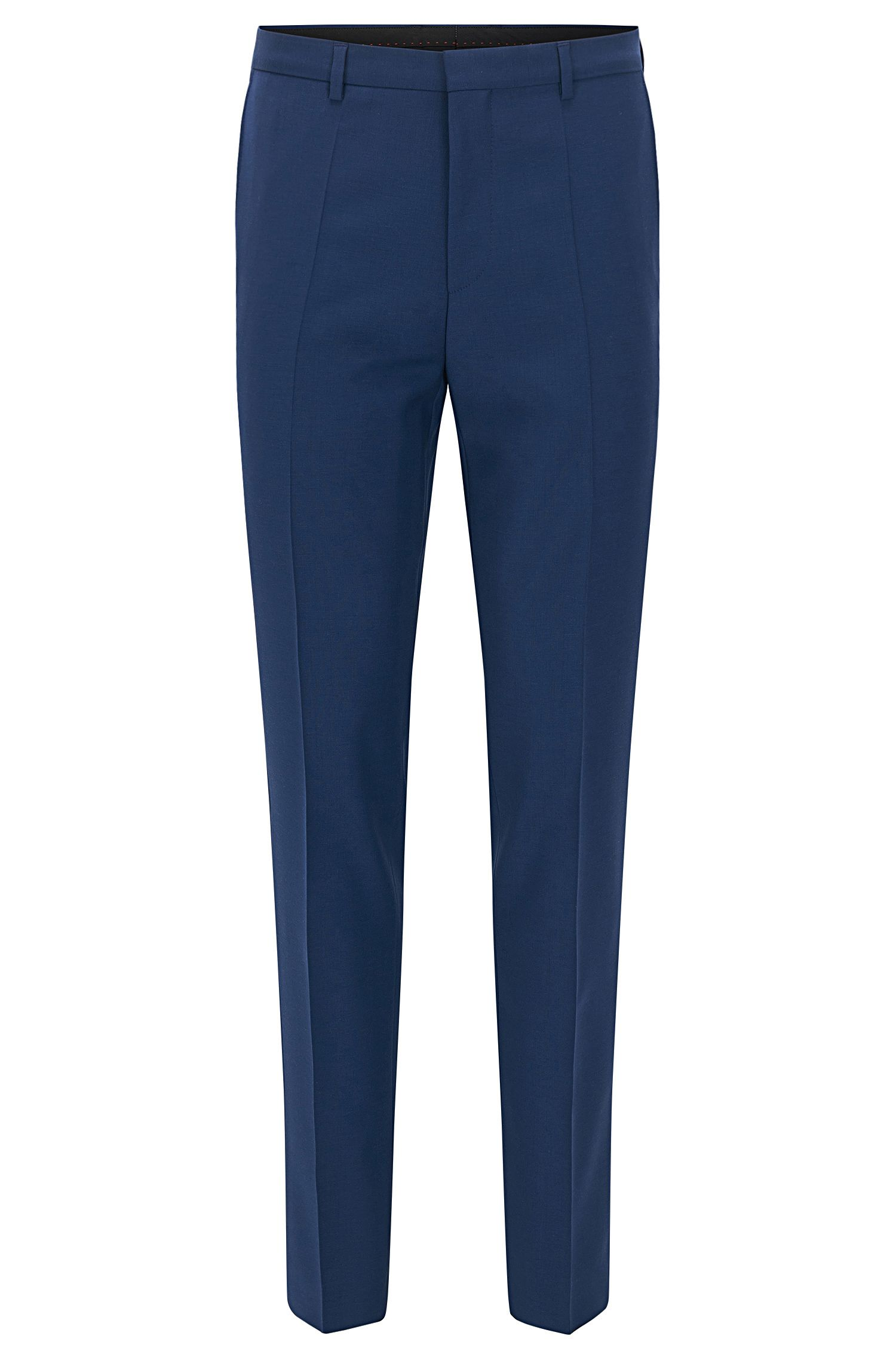 Extra-slim-fit trousers in virgin wool