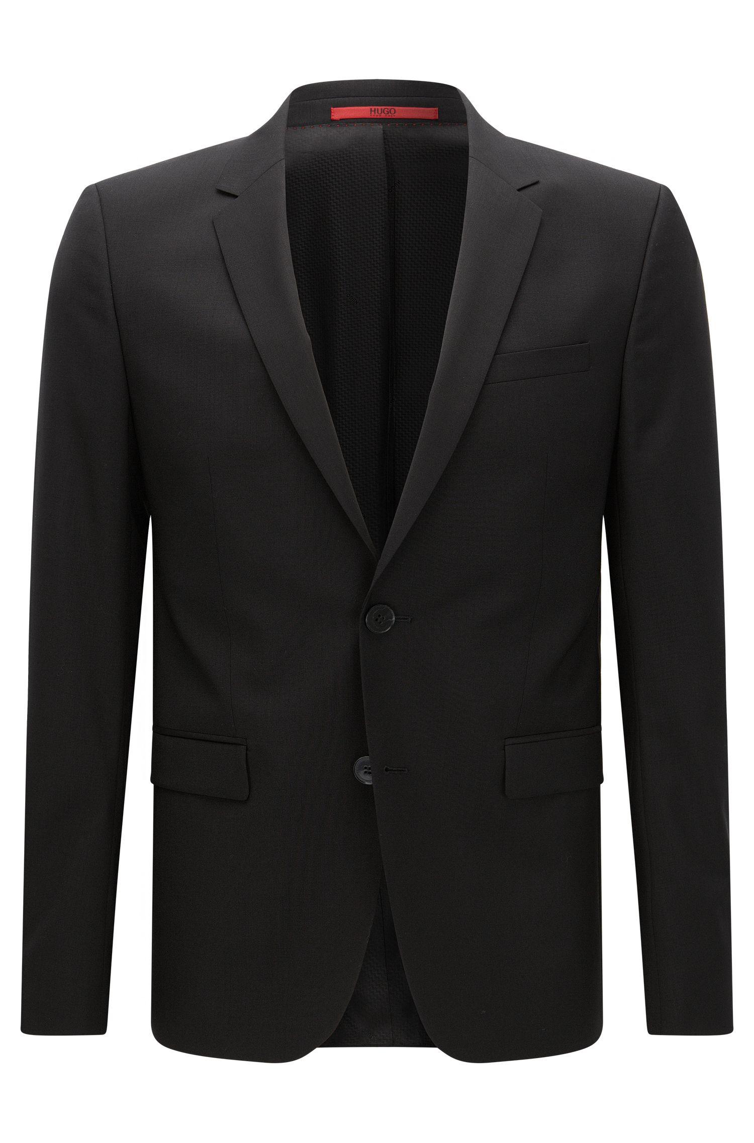 Veste de costume Extra Slim Fit en laine vierge