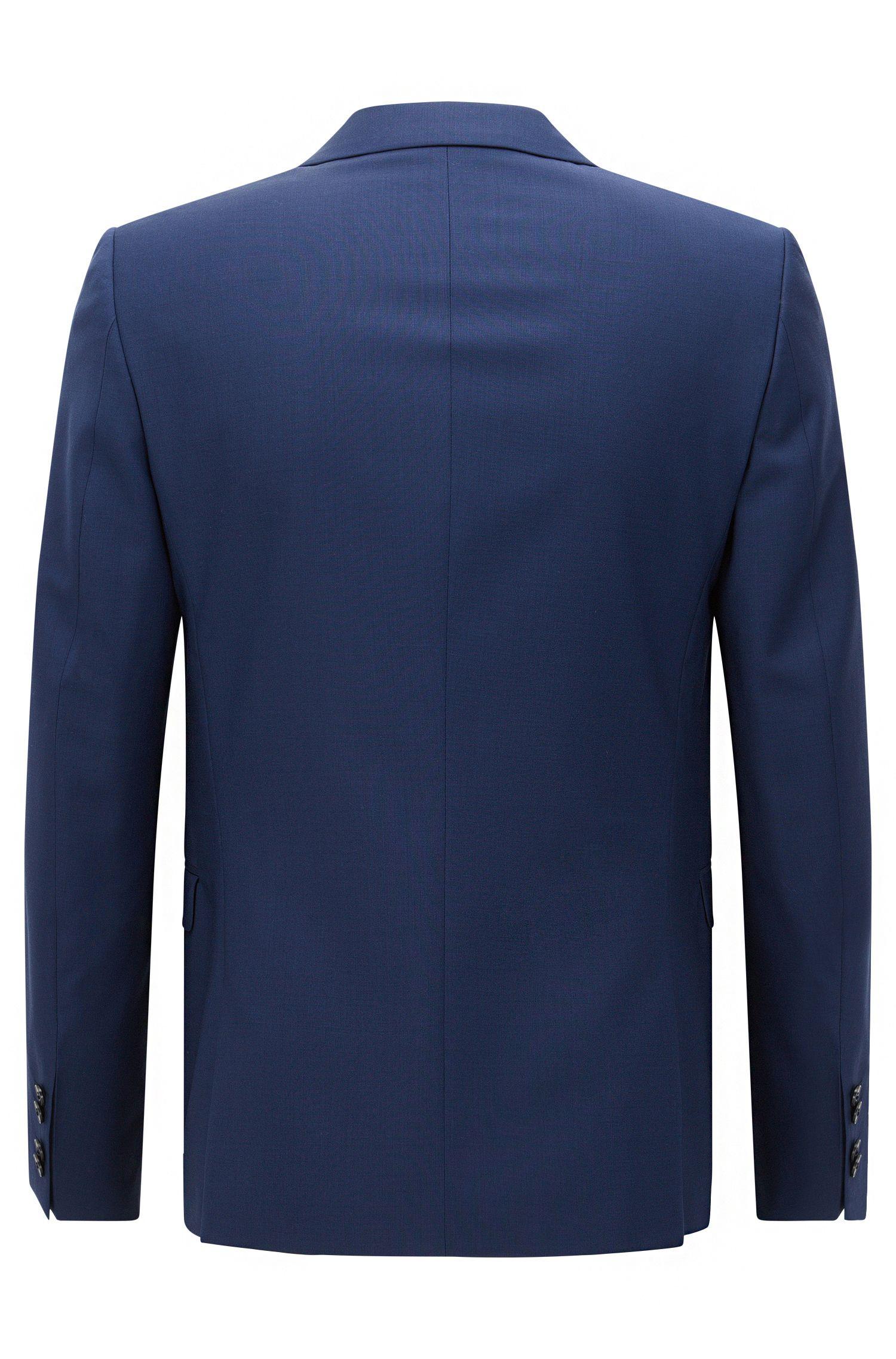Extra-slim-fit suit jacket in virgin wool