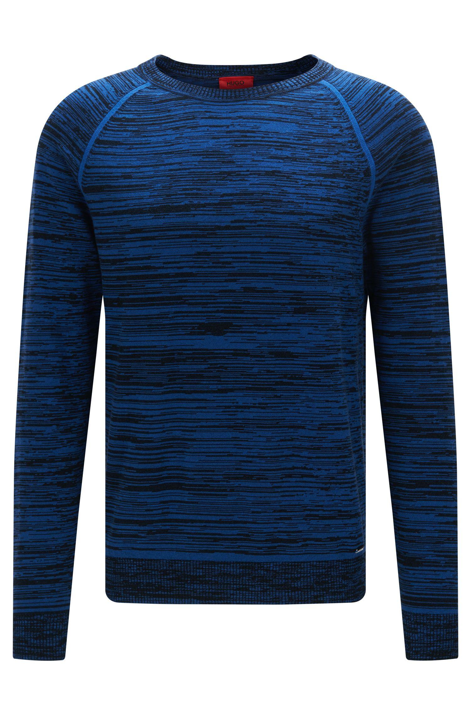 Oversized-fit trui van katoengaren