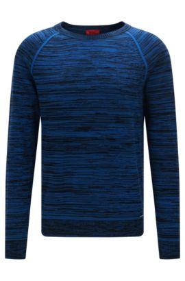 Pull OversizeFit en coton mouliné , Bleu vif