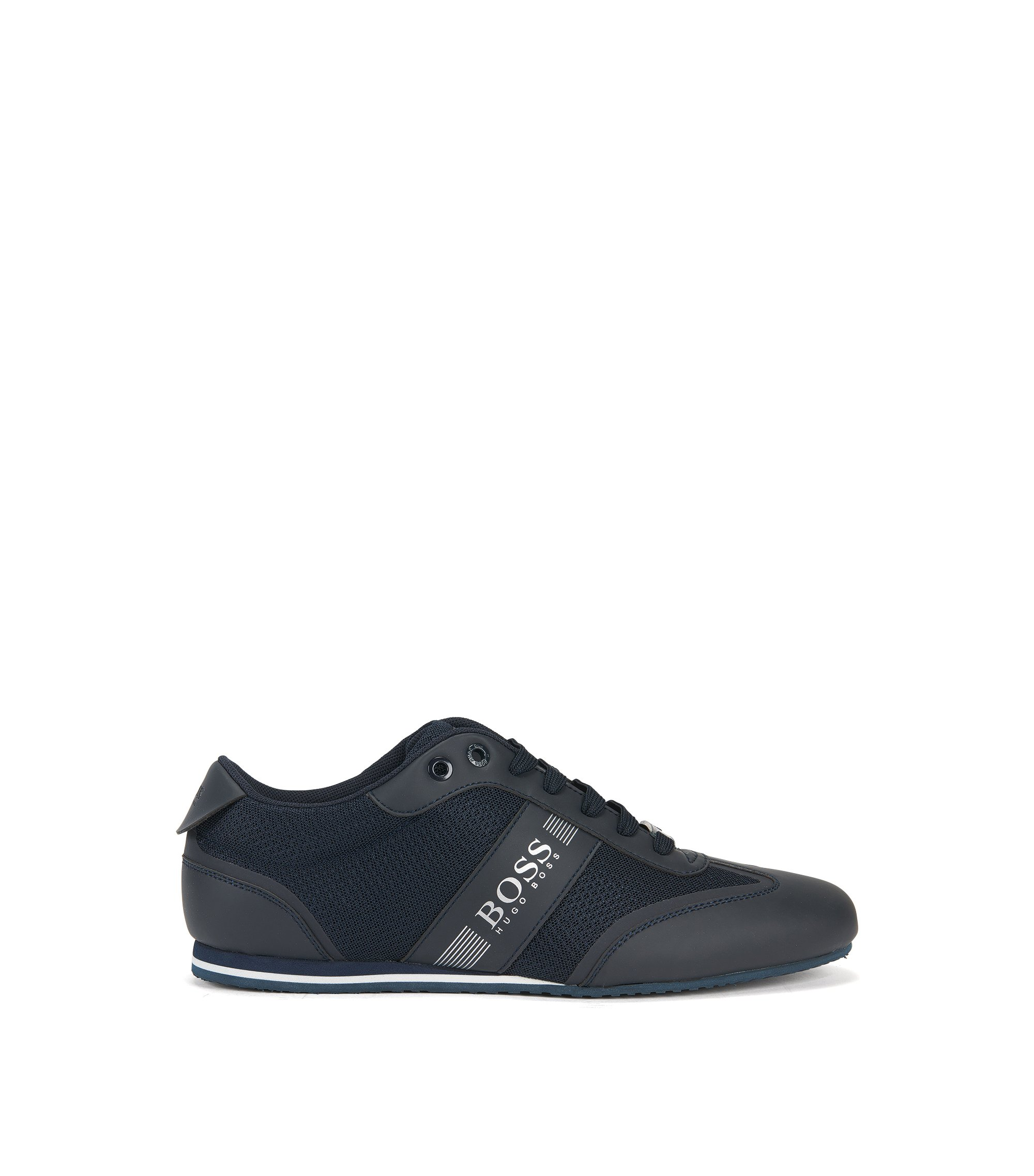 Shuttle_Tenn_lux, Sneakers Basses Homme, Noir (Black), 43 EUBoss Green by Hugo Boss