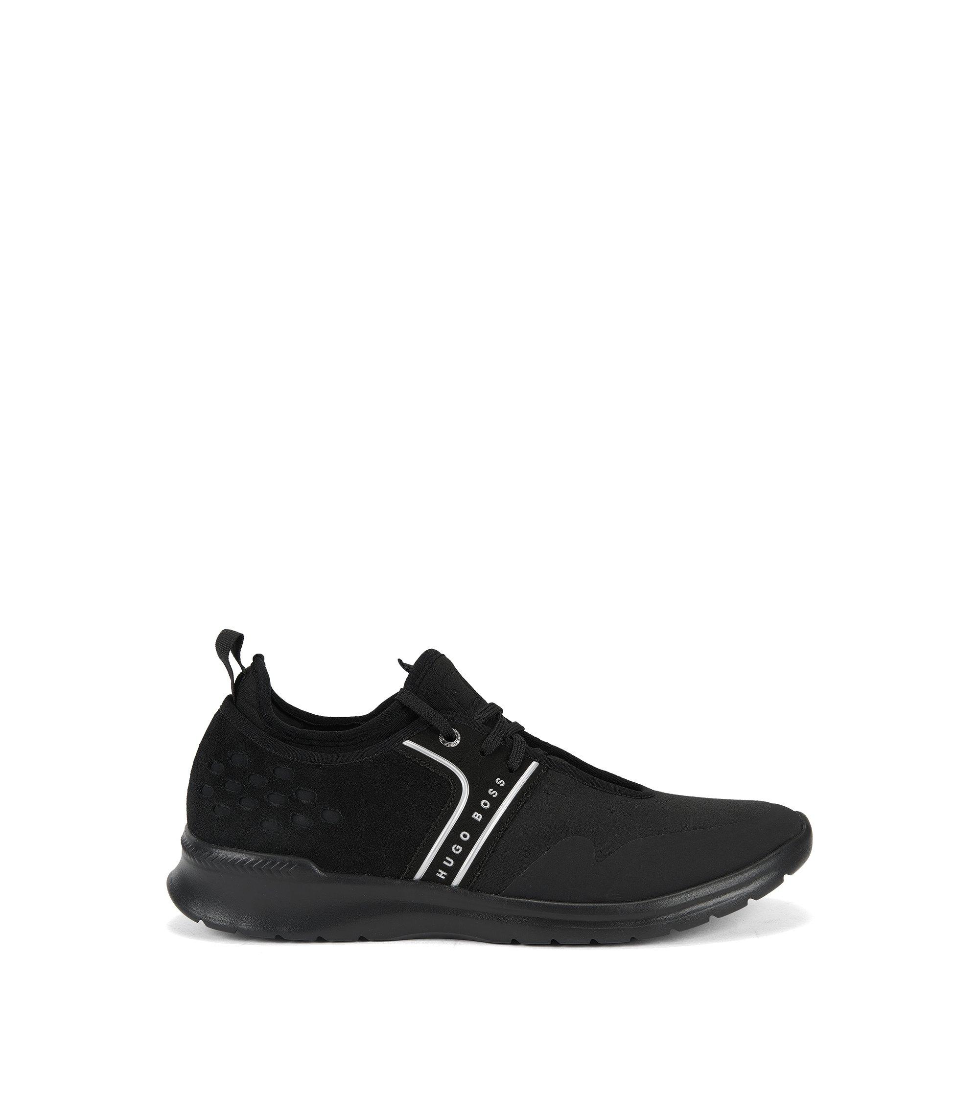 Lichte sneakers met bovenzijde met kleurverloop, Zwart