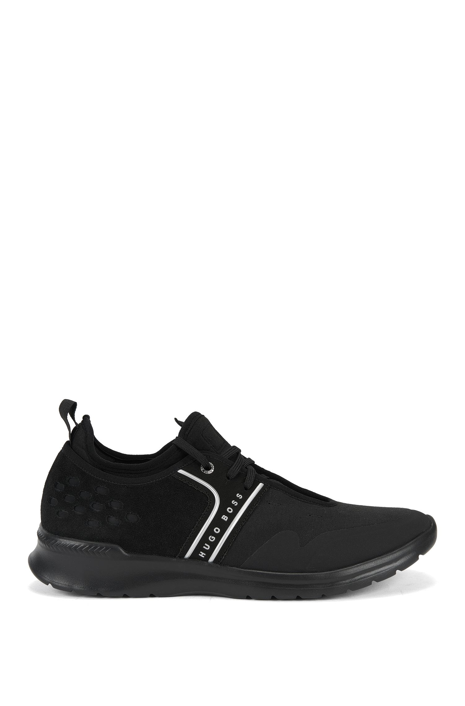 Lightweight trainers with gradient uppers