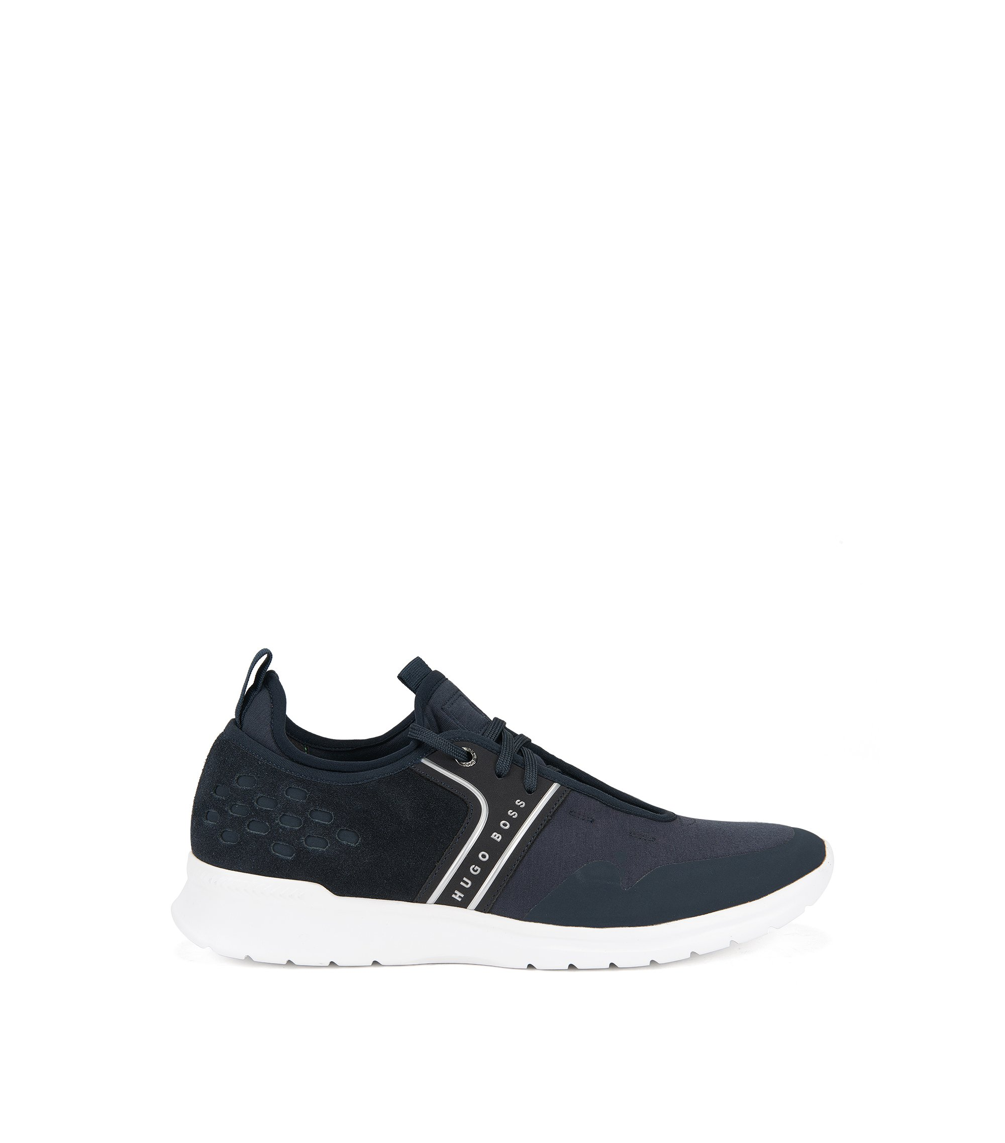 Lightweight trainers with gradient uppers, Dark Blue