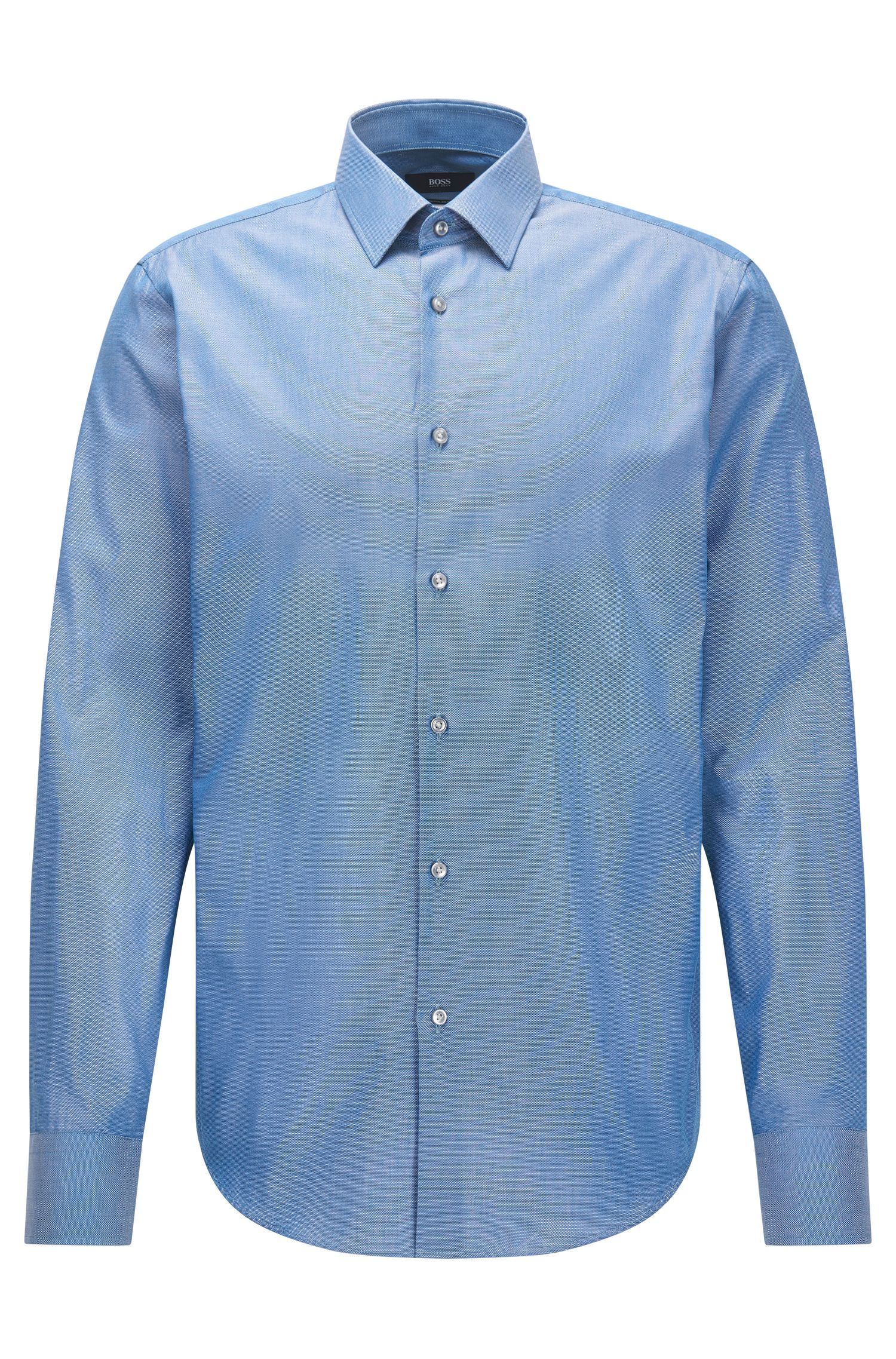 Camicia regular fit in cotone Royal Oxford
