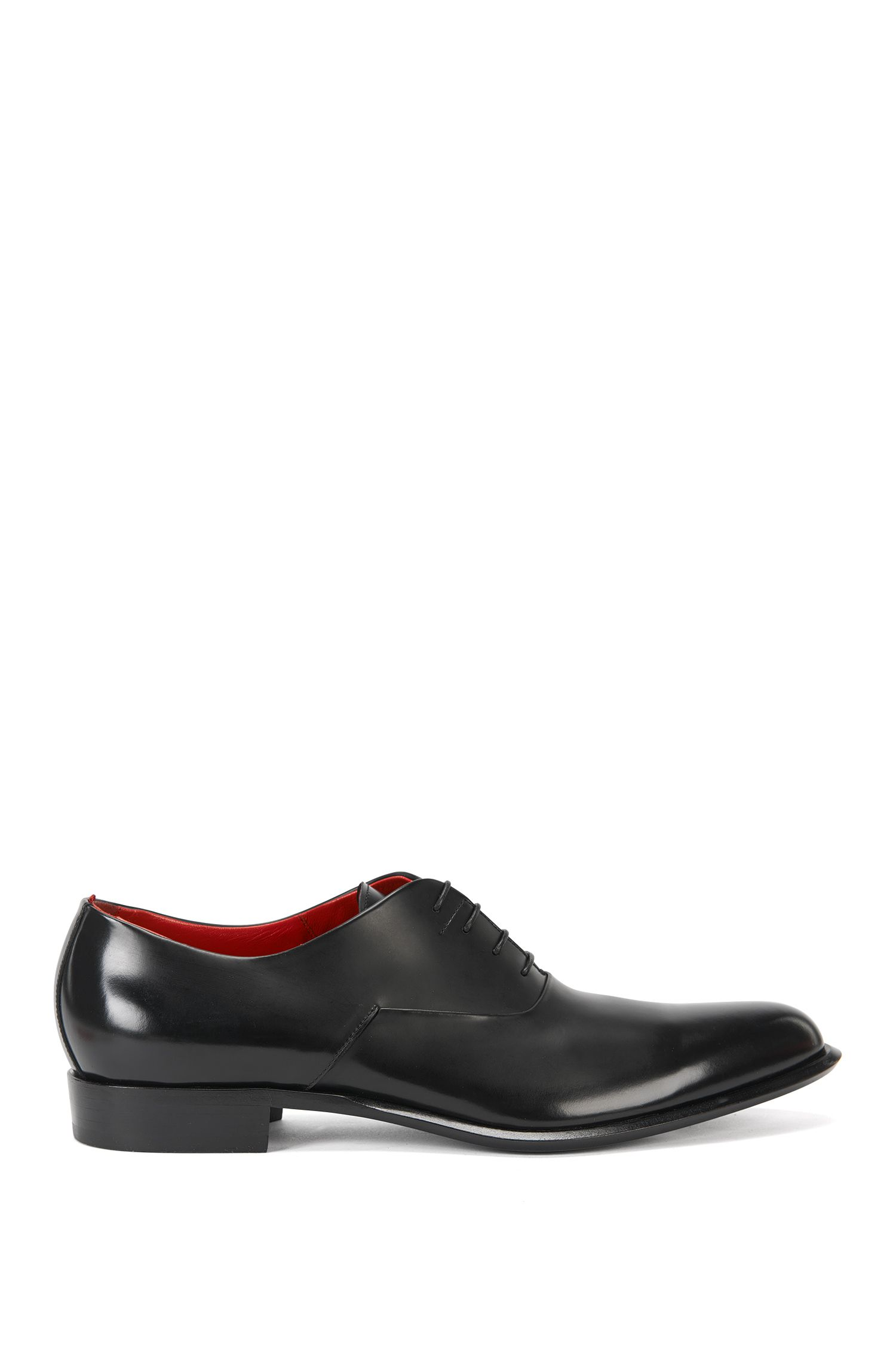 Italienische Oxford-Schuhe aus edlem Leder