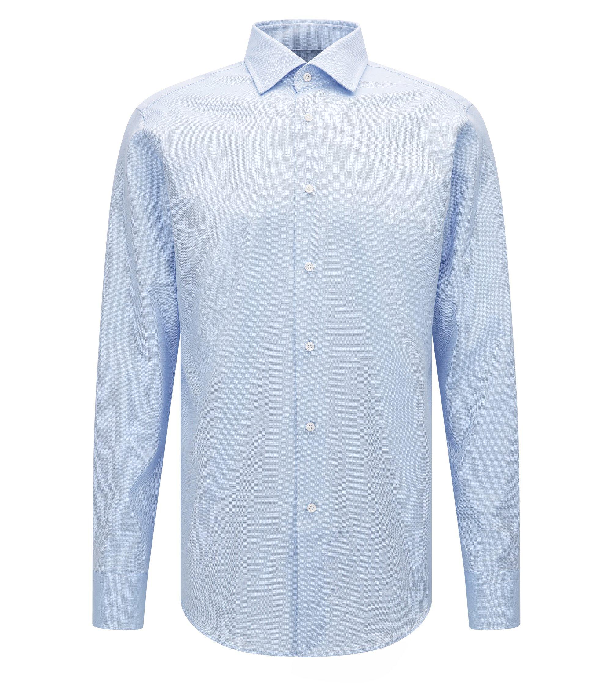 Chemise Regular Fit en coton Royal Oxford extra fin, Bleu vif